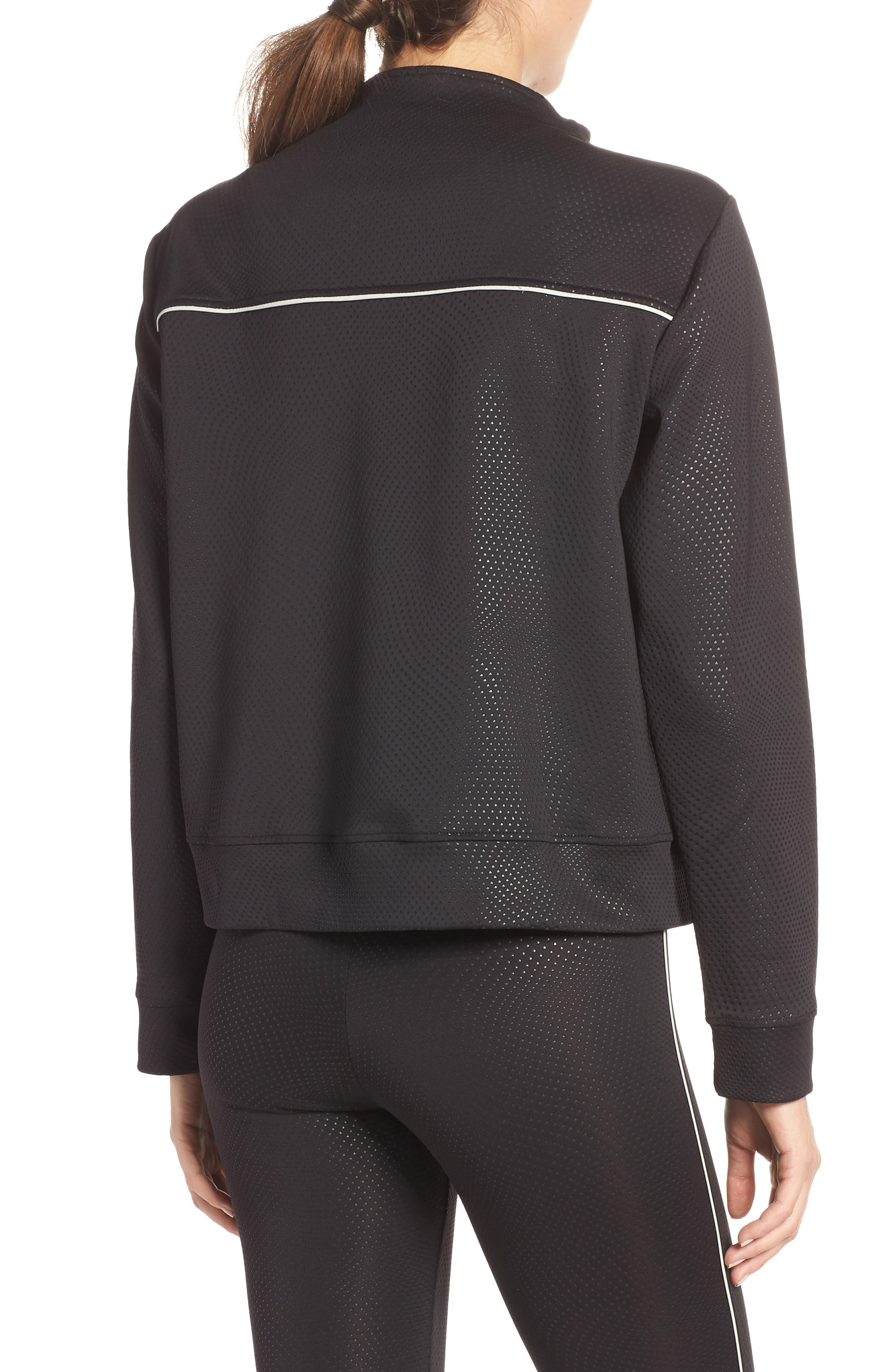 Kai Etch Half-Zip Sweatshirt,                             Alternate thumbnail 2, color,                             001