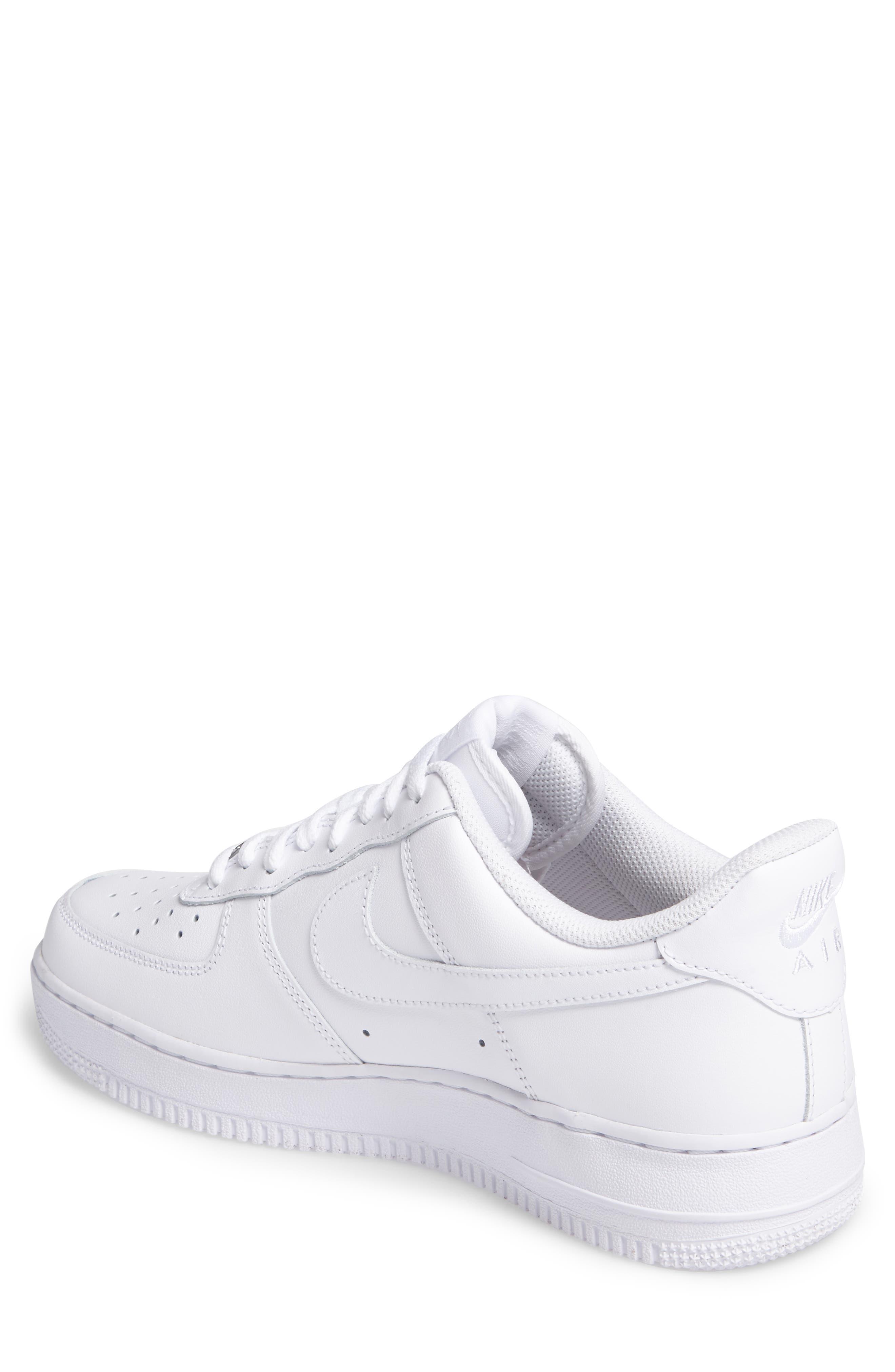 Air Force 1 '07 Sneaker,                             Alternate thumbnail 2, color,                             WHITE/ WHITE