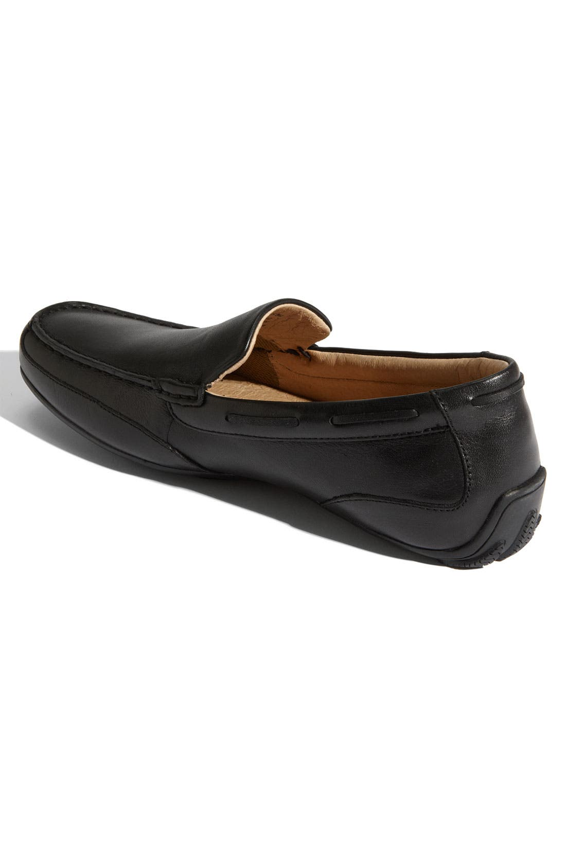 Top-Sider<sup>®</sup> 'Navigator Venetian' Driving Shoe,                             Alternate thumbnail 3, color,                             001