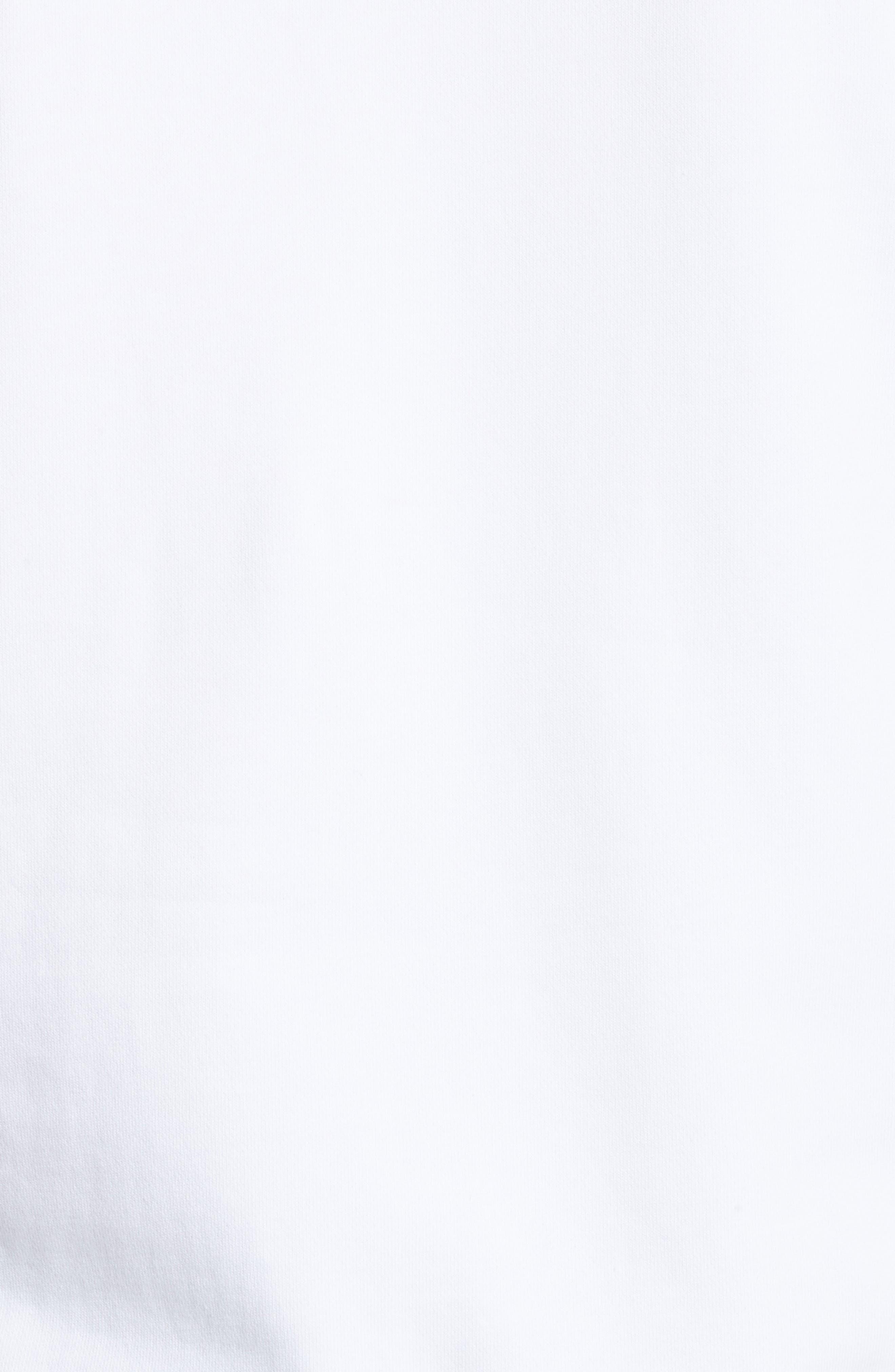 Bowery Grid Logo Sweatshirt,                             Alternate thumbnail 5, color,                             110