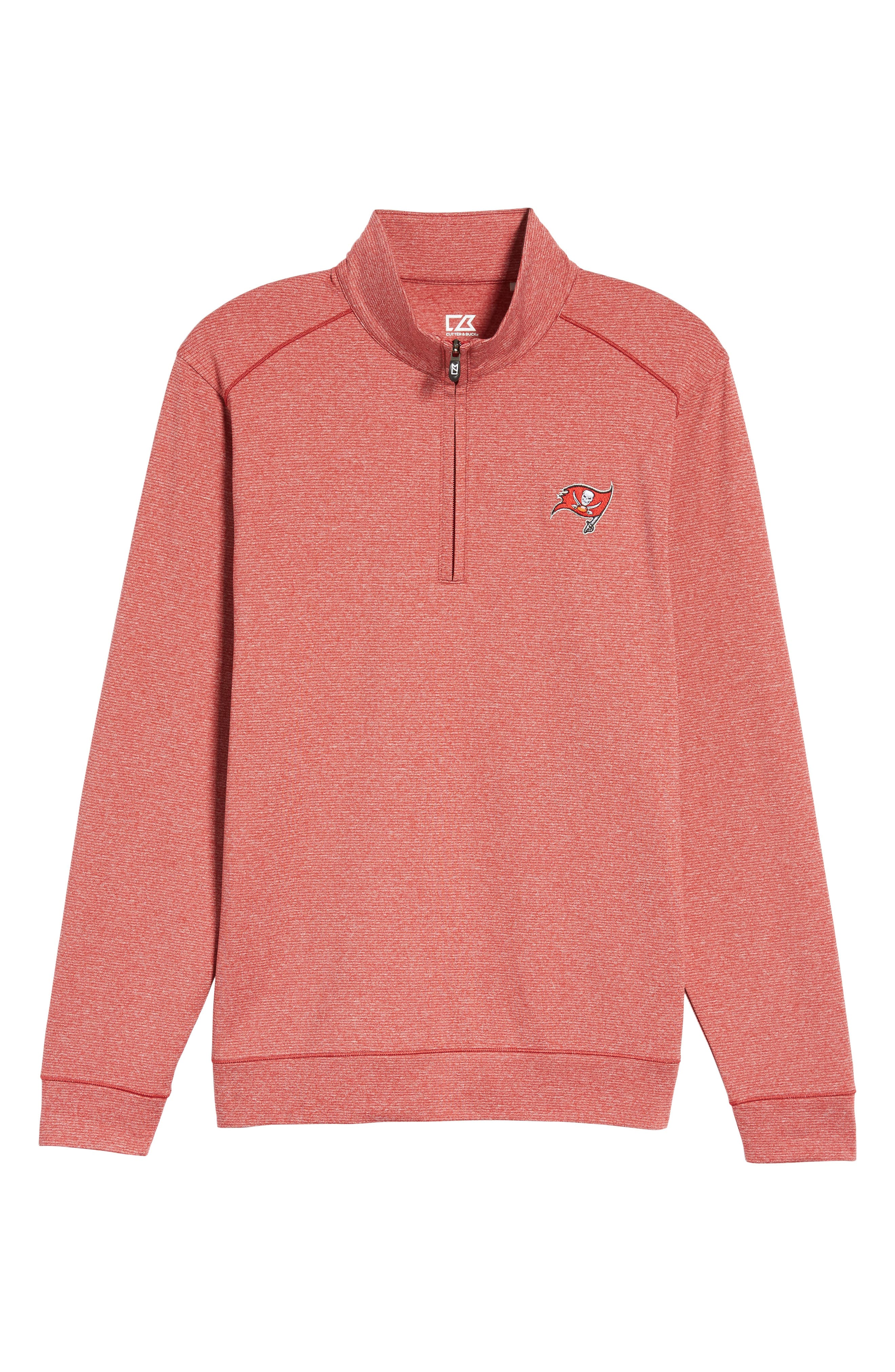 Shoreline - Tampa Bay Buccaneers Half Zip Pullover,                             Alternate thumbnail 6, color,