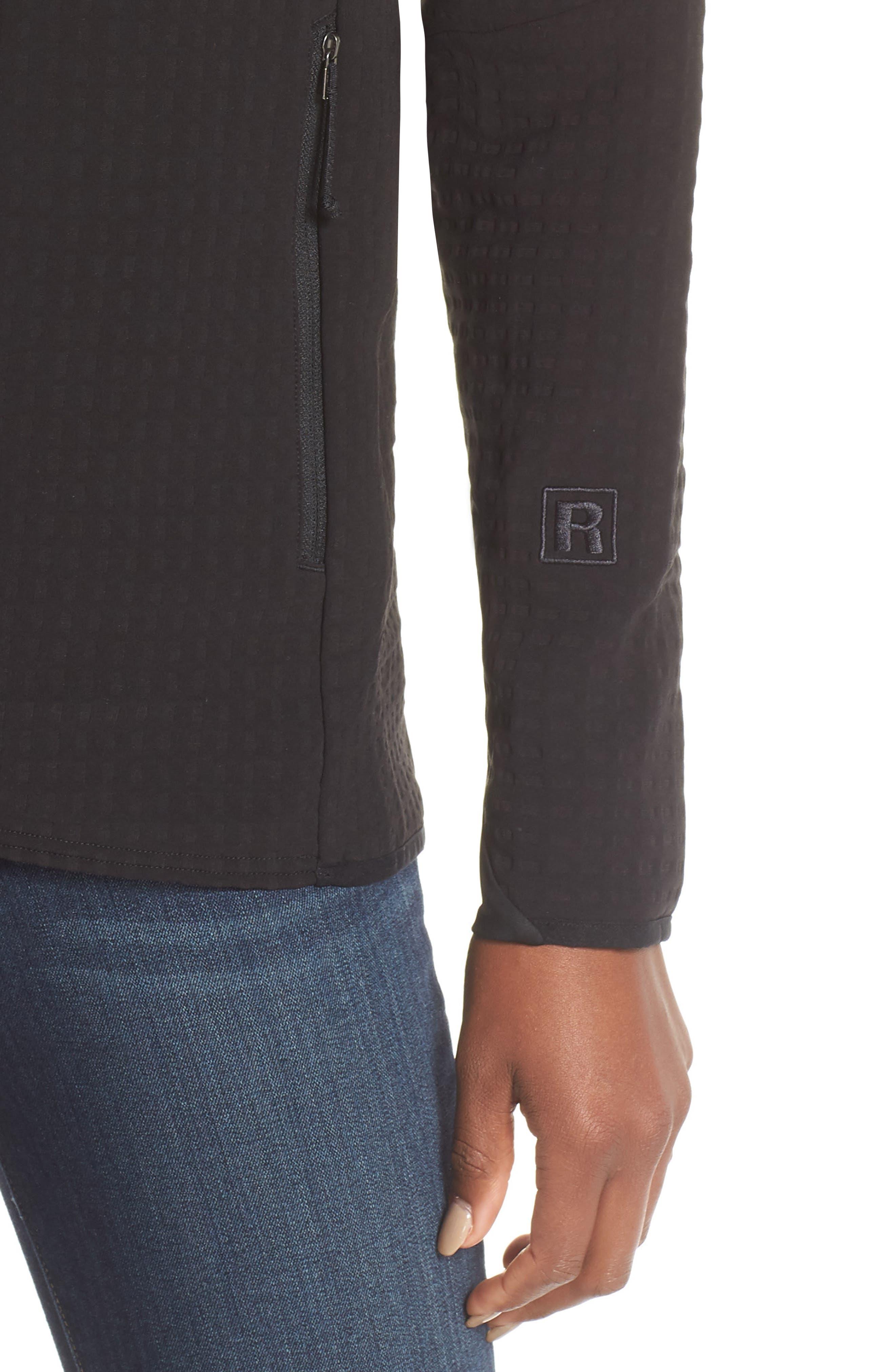 R2<sup>®</sup> TechFace Jacket,                             Alternate thumbnail 4, color,                             BLACK
