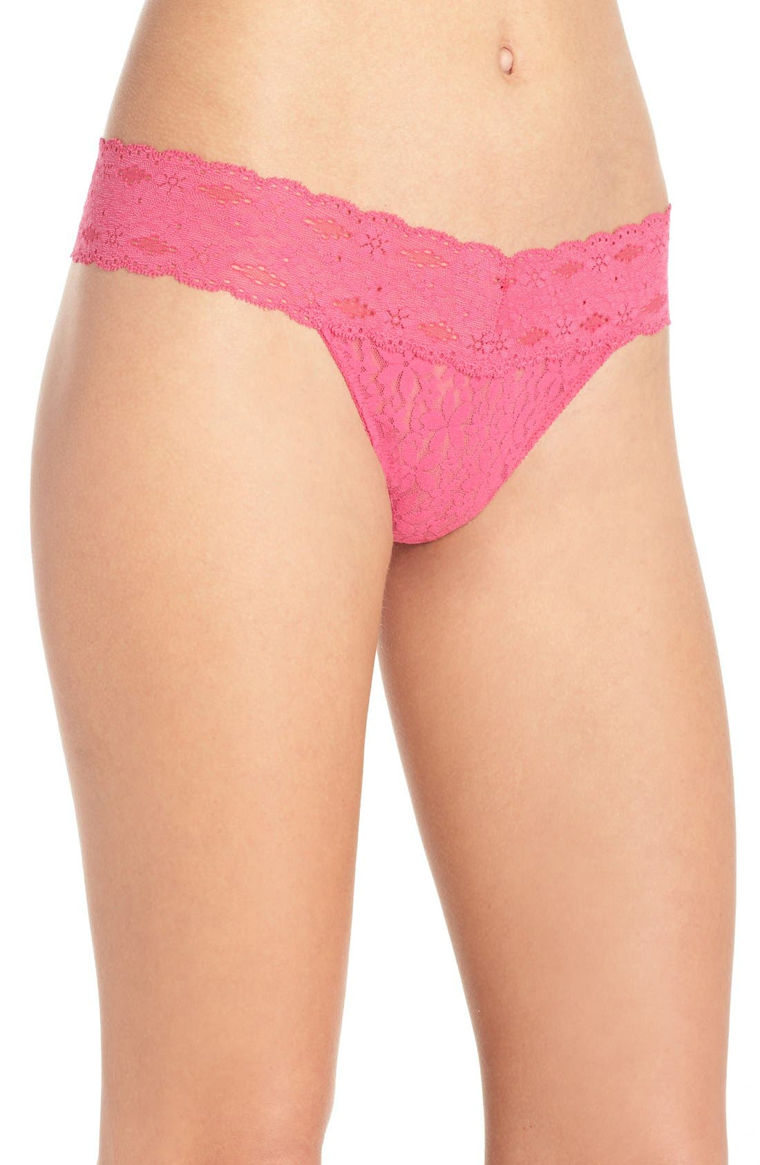 Halo Lace Thong,                             Alternate thumbnail 8, color,
