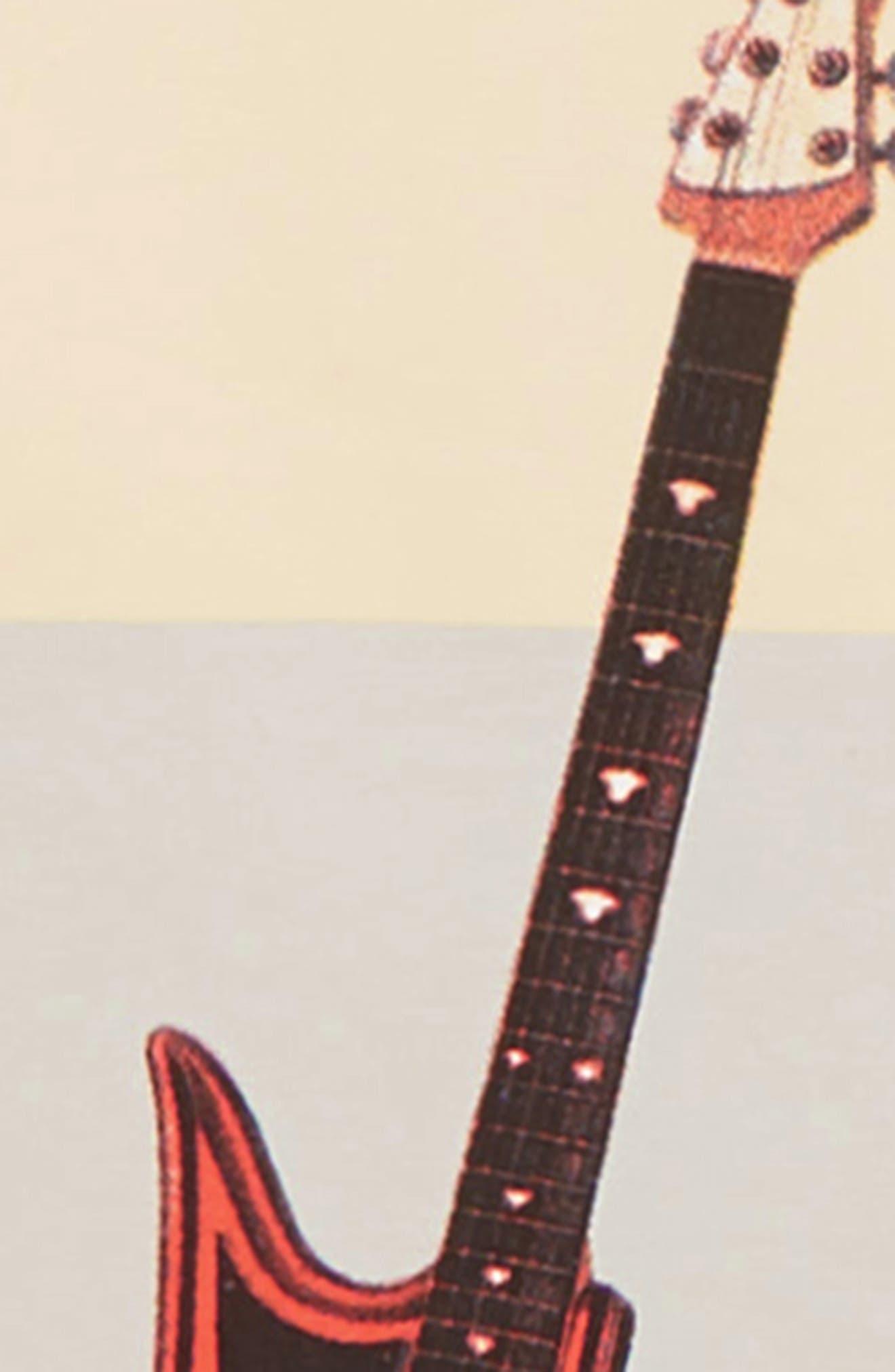 Guitar Licks T-Shirt,                             Alternate thumbnail 2, color,                             LIGHT GREY