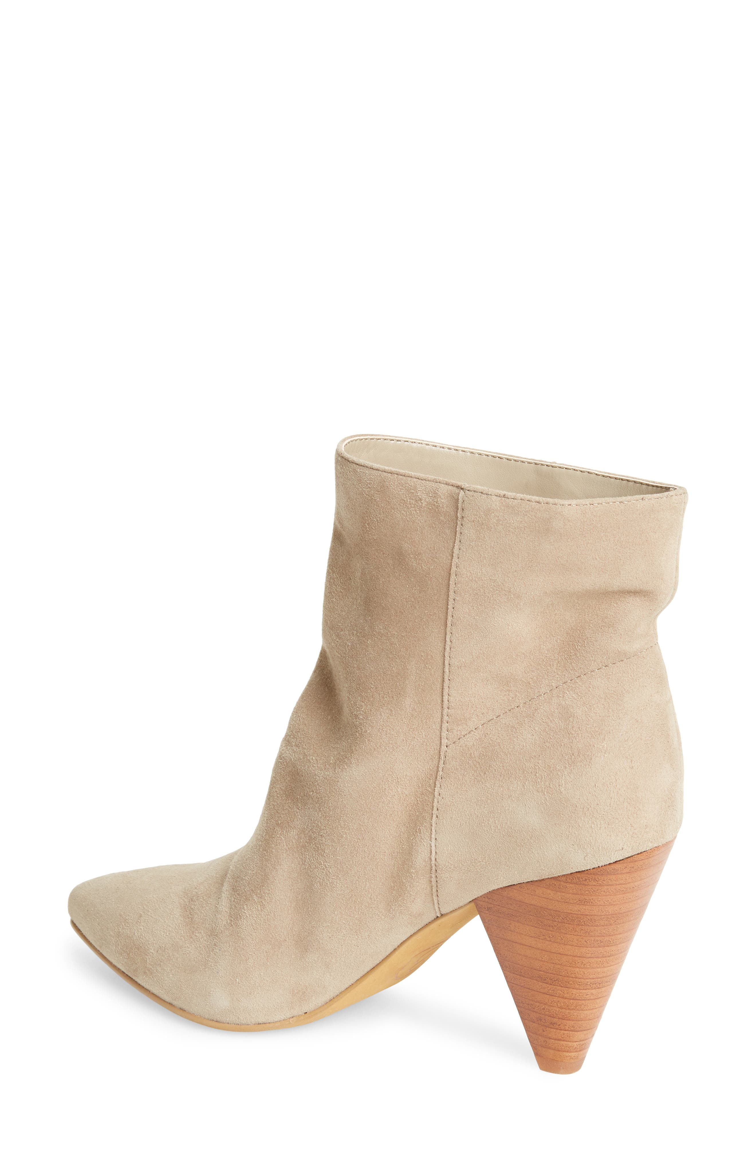 Scope Bootie,                             Alternate thumbnail 2, color,                             TAUPE SUEDE