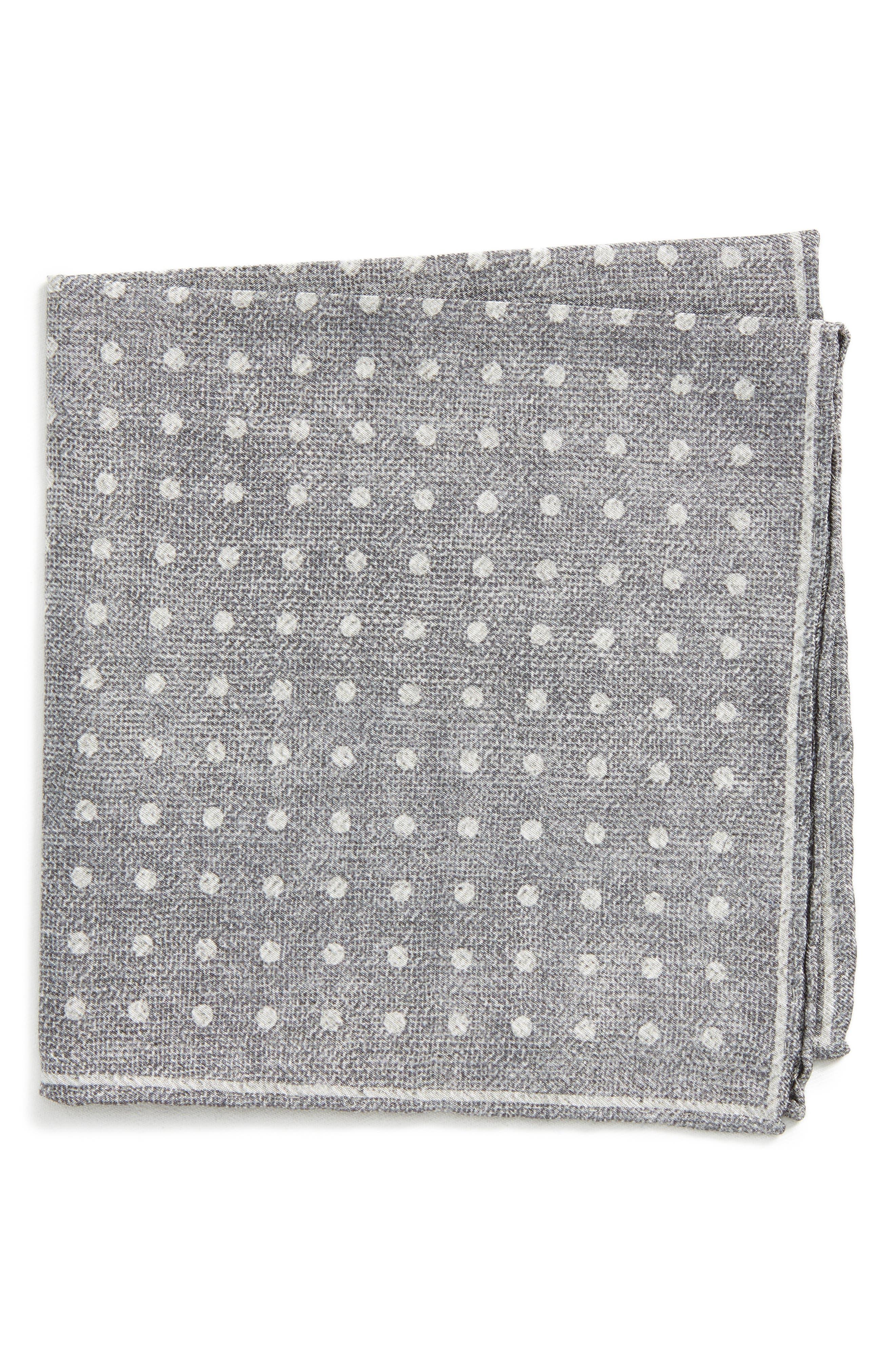 Dot Silk Pocket Square,                         Main,                         color, 020