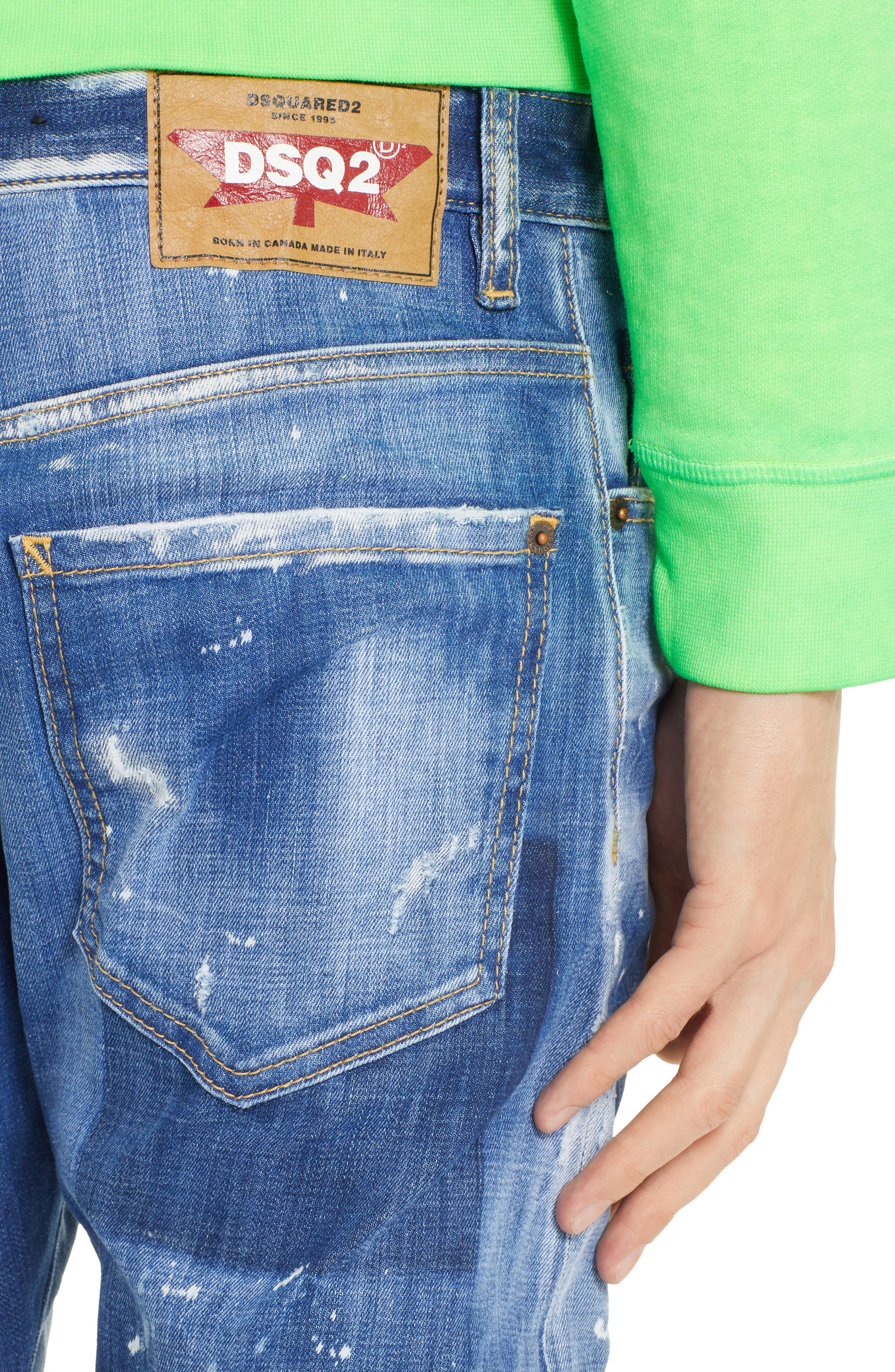 Cool Guy Jeans,                             Alternate thumbnail 4, color,                             BLUE