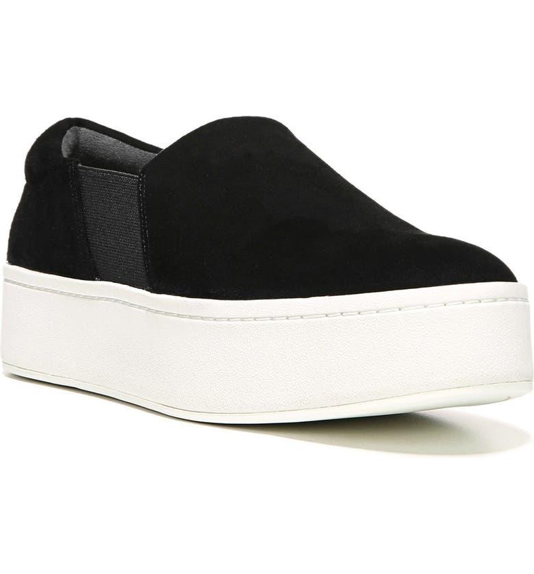 40ec0e80687 Vince Warren Suede Platform Skate Sneakers