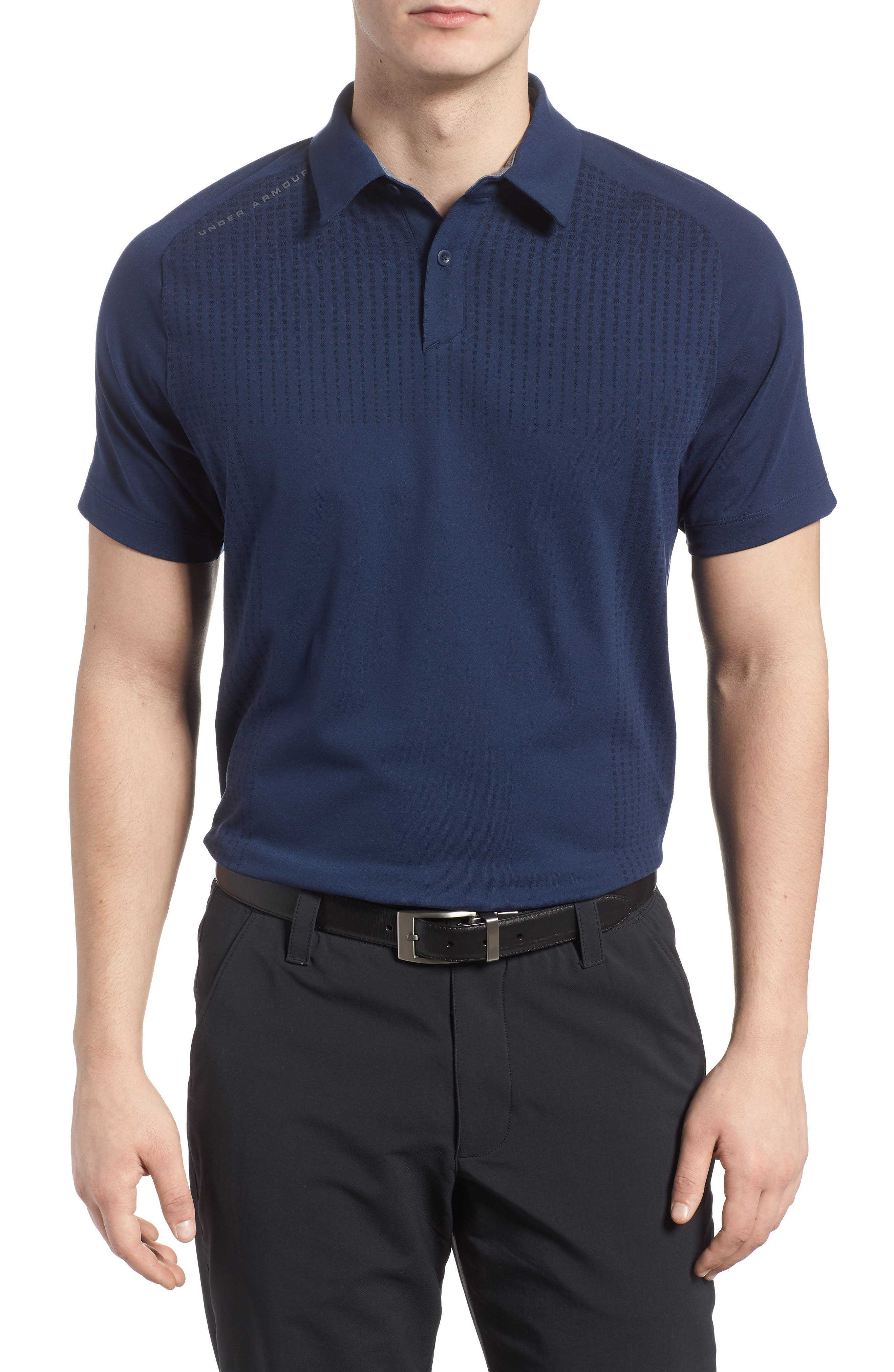 Threadborne Outer Glow Regular Fit Polo Shirt,                         Main,                         color, 408