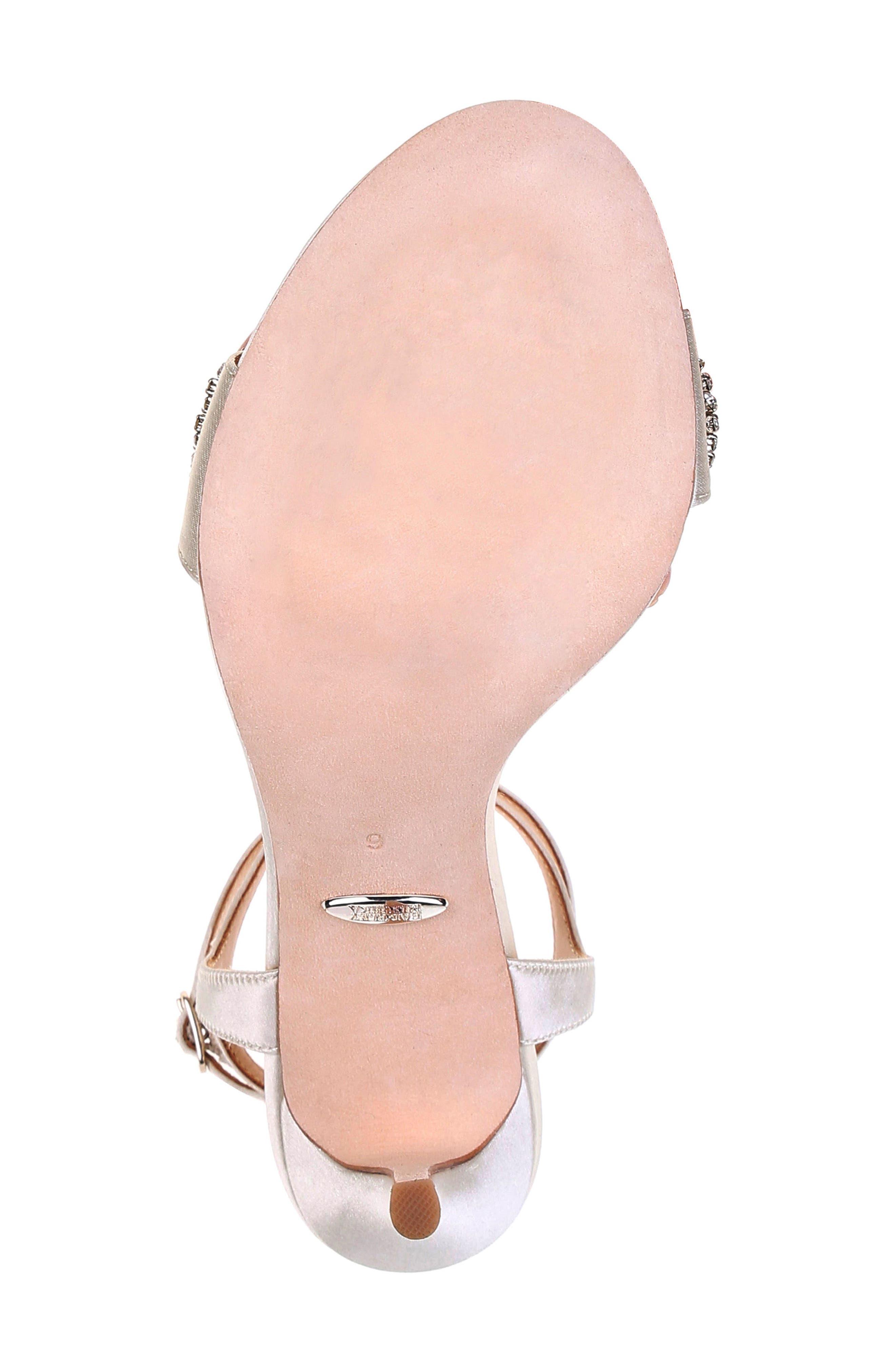 Hailey Embellished Ankle Strap Sandal,                             Alternate thumbnail 33, color,