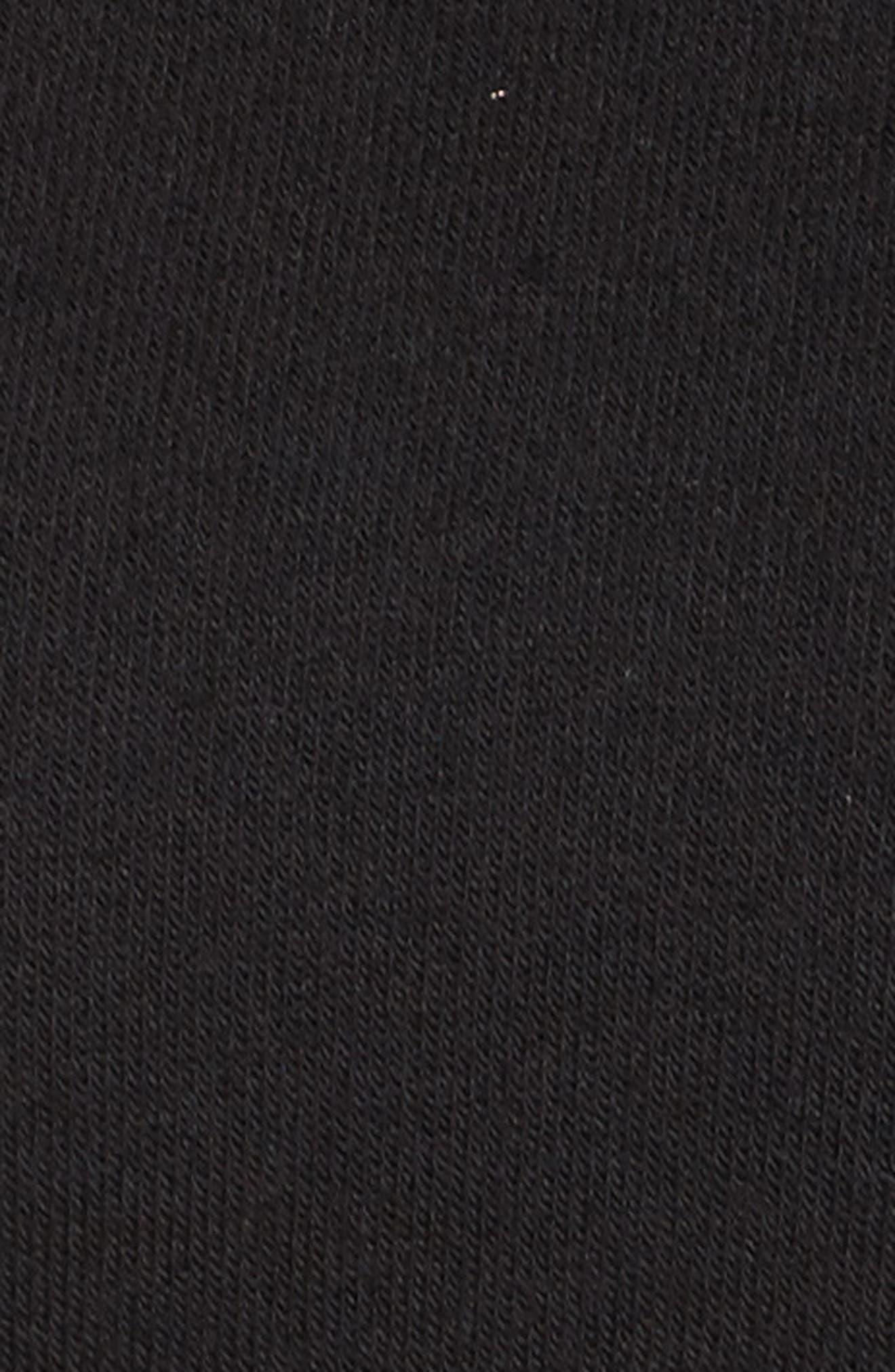 Slay Slashed Long Sleeve Hoodie,                             Alternate thumbnail 6, color,                             001
