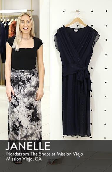 Fil Coupé Wrap Dress, sales video thumbnail