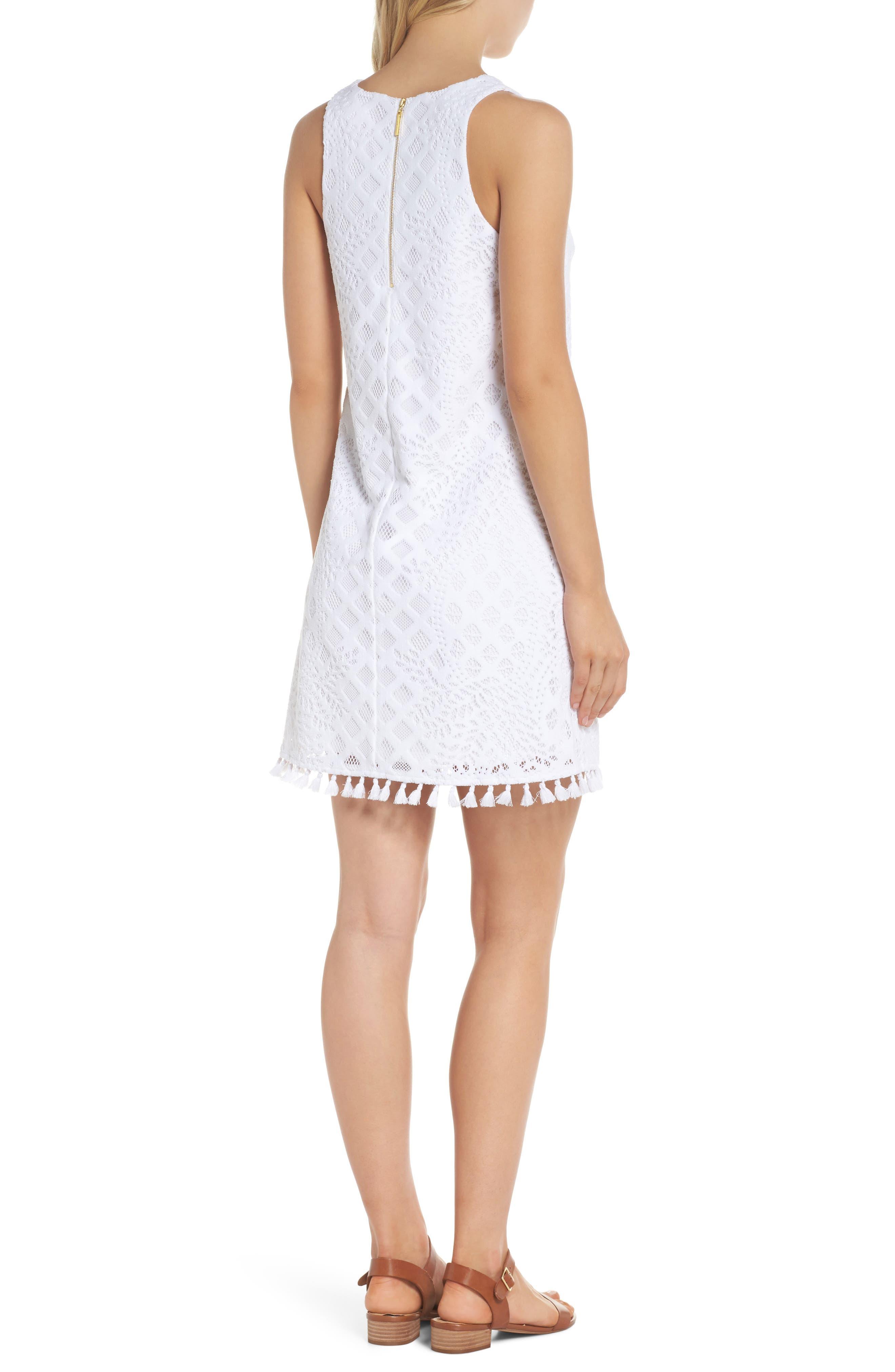Marquette Lace Shift Dress,                             Alternate thumbnail 2, color,                             115