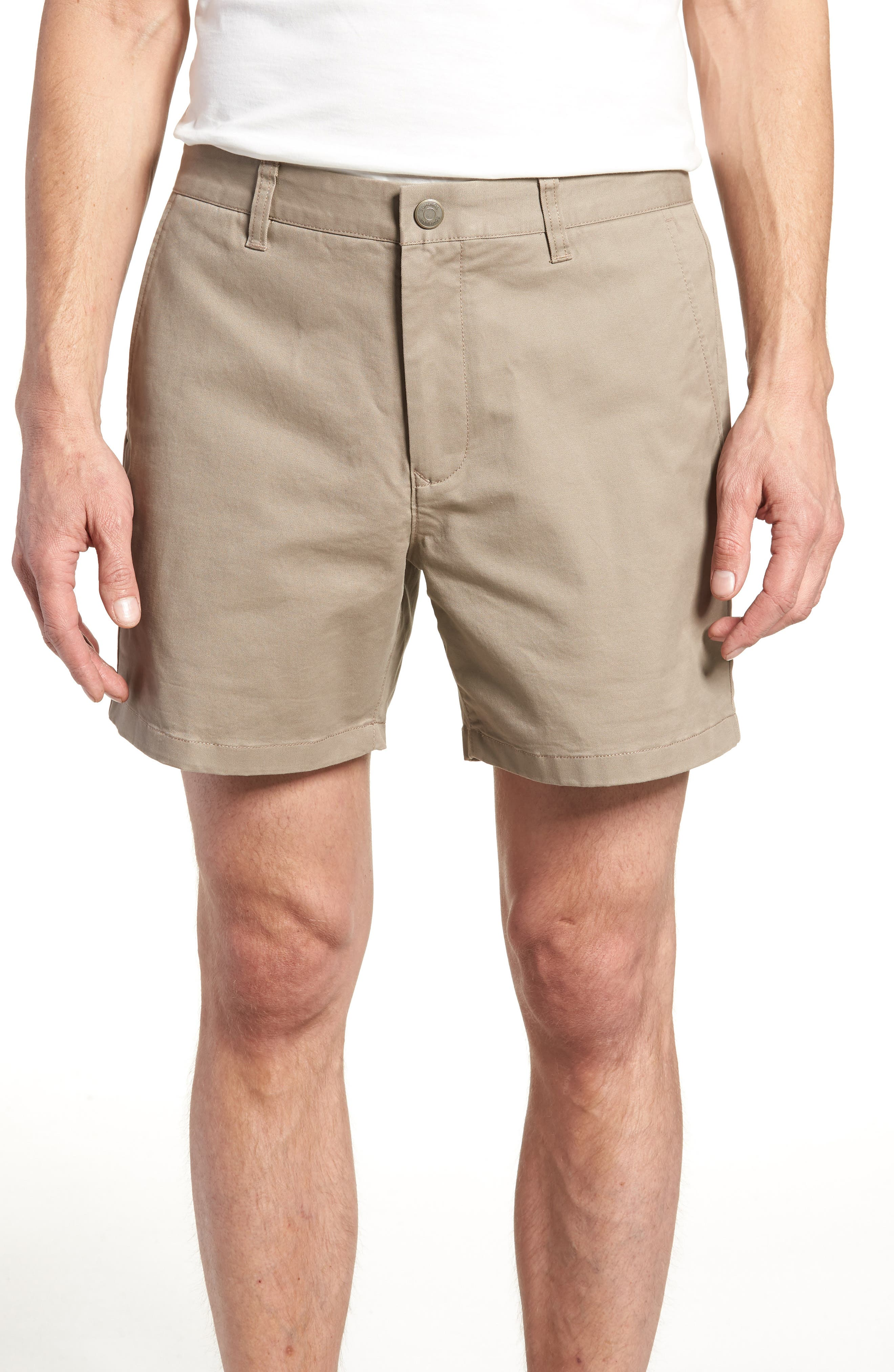 Stretch Washed Chino 5-Inch Shorts,                             Main thumbnail 2, color,