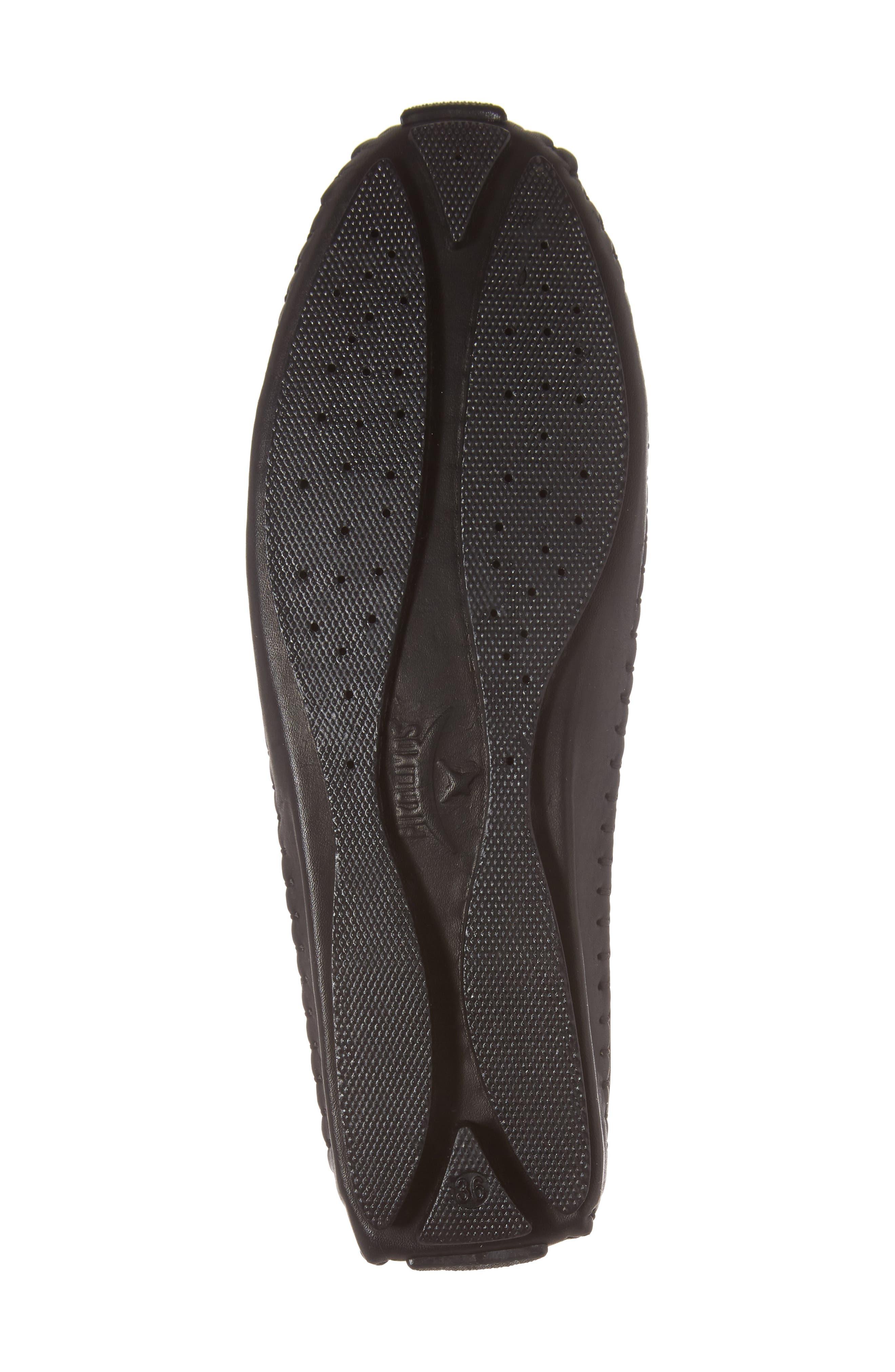 Jerez Loafer,                             Alternate thumbnail 6, color,                             BLACK LEATHER