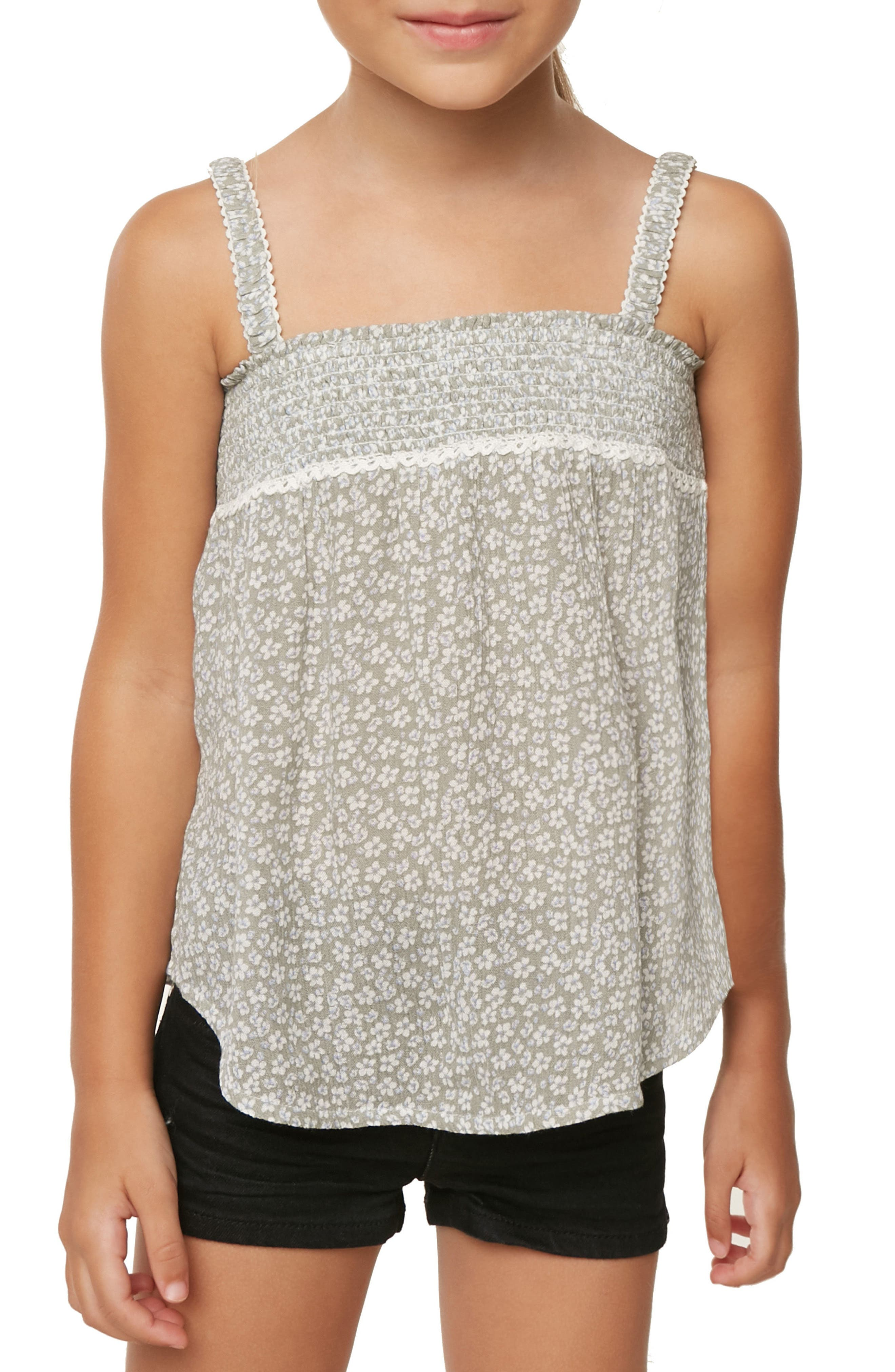 Ellie Floral Swing Tank,                             Alternate thumbnail 3, color,                             029