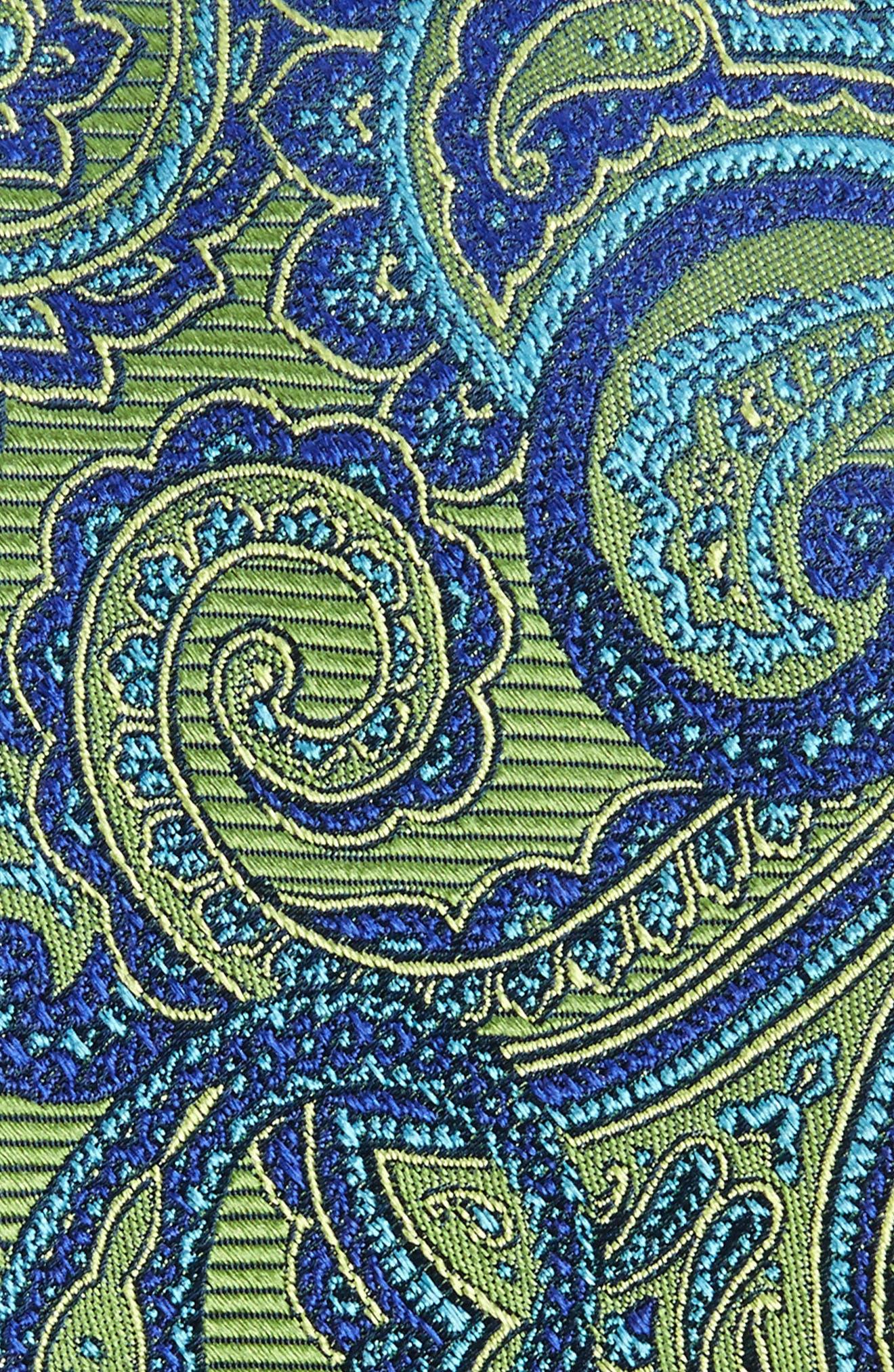Avalon Paisley Silk Tie,                             Alternate thumbnail 8, color,