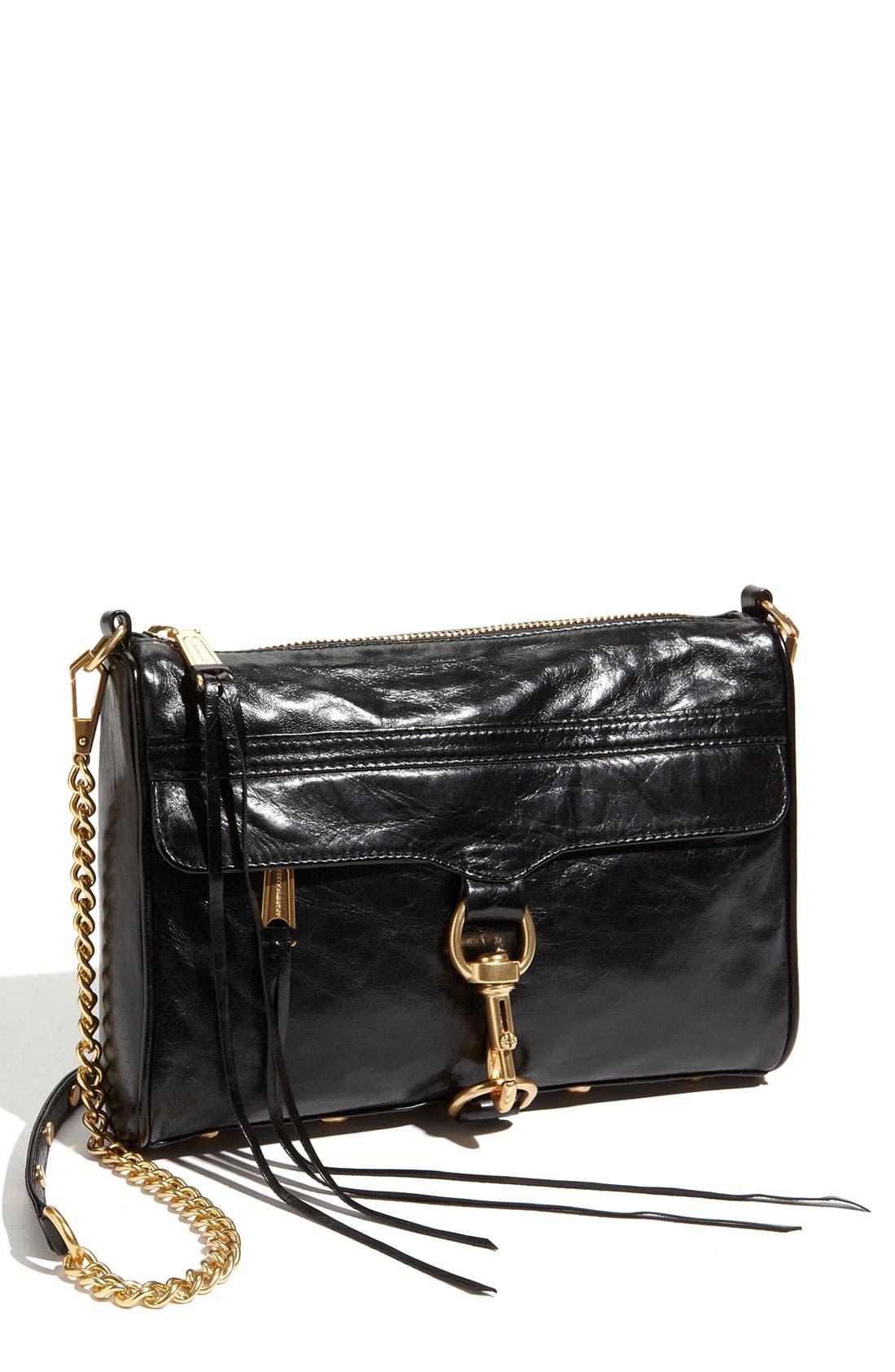 REBECCA MINKOFF 'MAC' Convertible Crossbody Bag, Main, color, 001