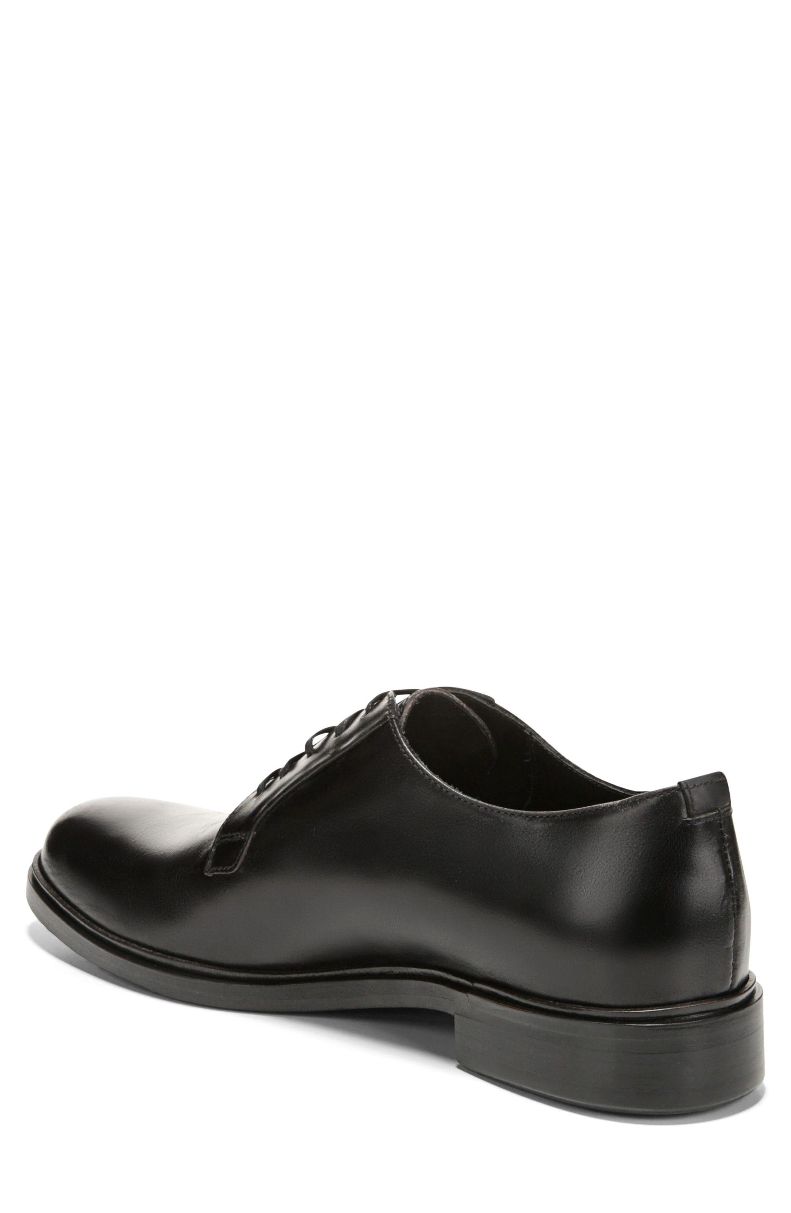 Boreum Plain Toe Derby,                             Alternate thumbnail 2, color,                             BLACK