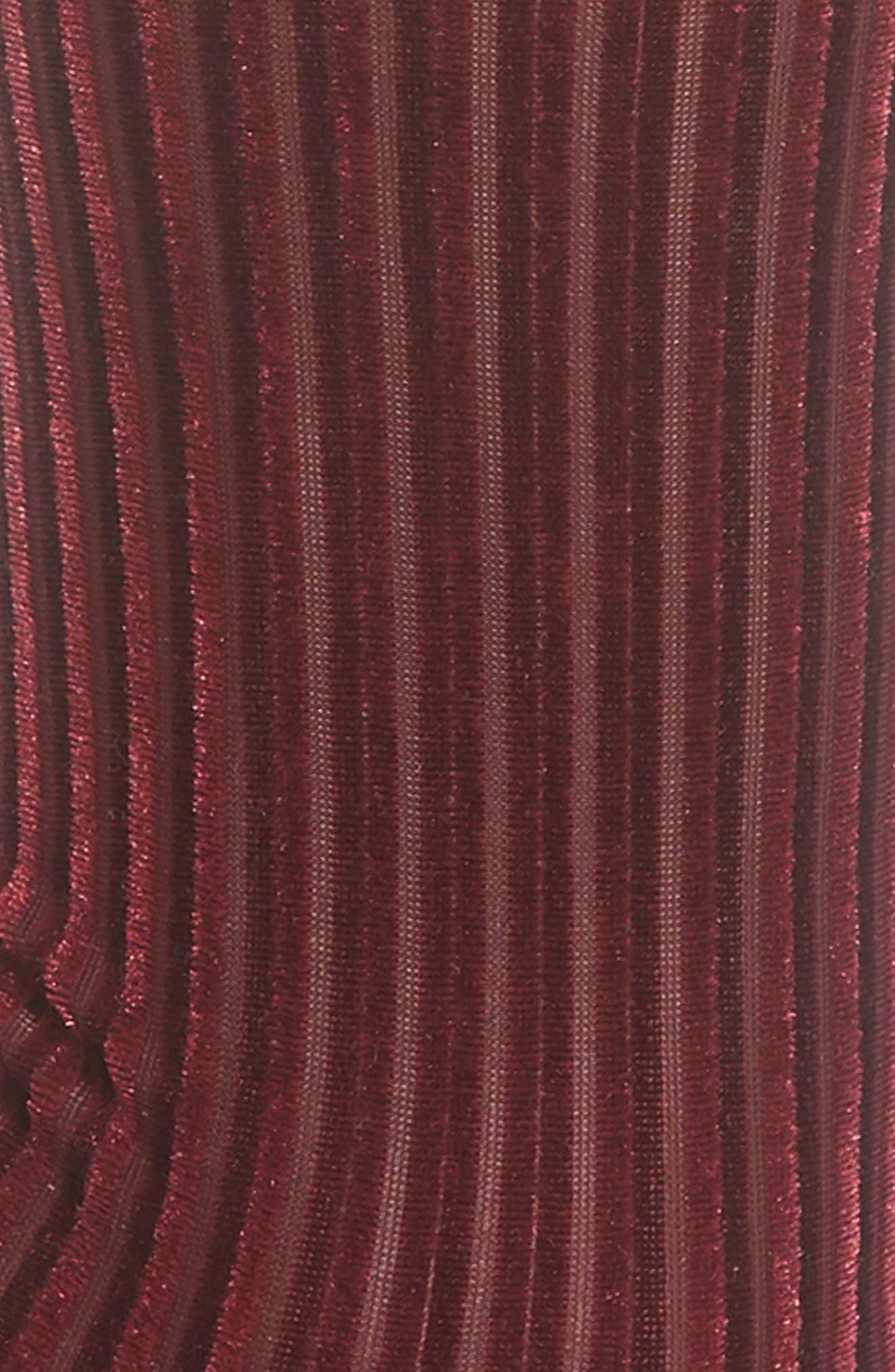 Velvet Ribbed Socks,                             Alternate thumbnail 2, color,                             601