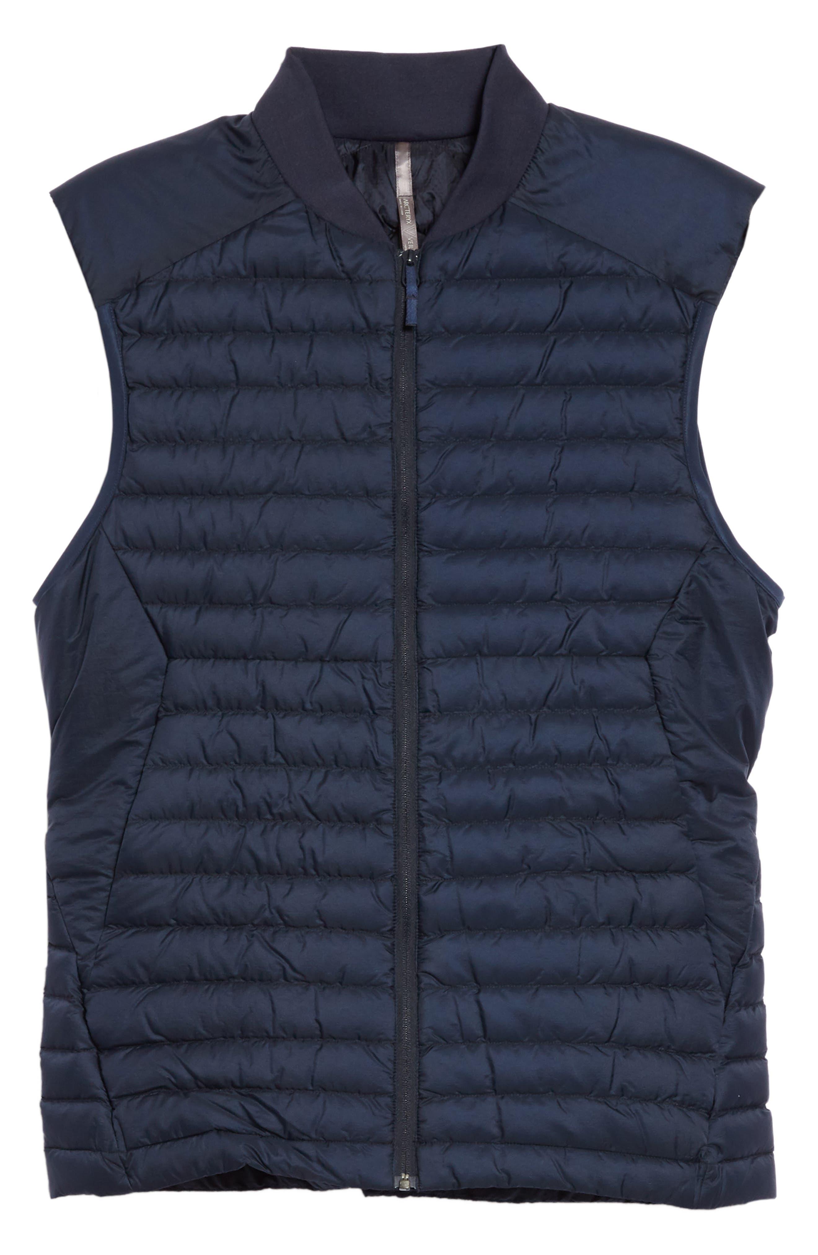 Conduit Lightweight Down Vest, Main, color, DARK NAVY