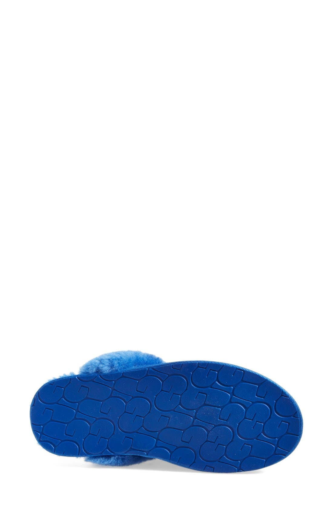 Australia Scuffette II - Exotic Genuine Calf Hair Slipper,                             Alternate thumbnail 13, color,
