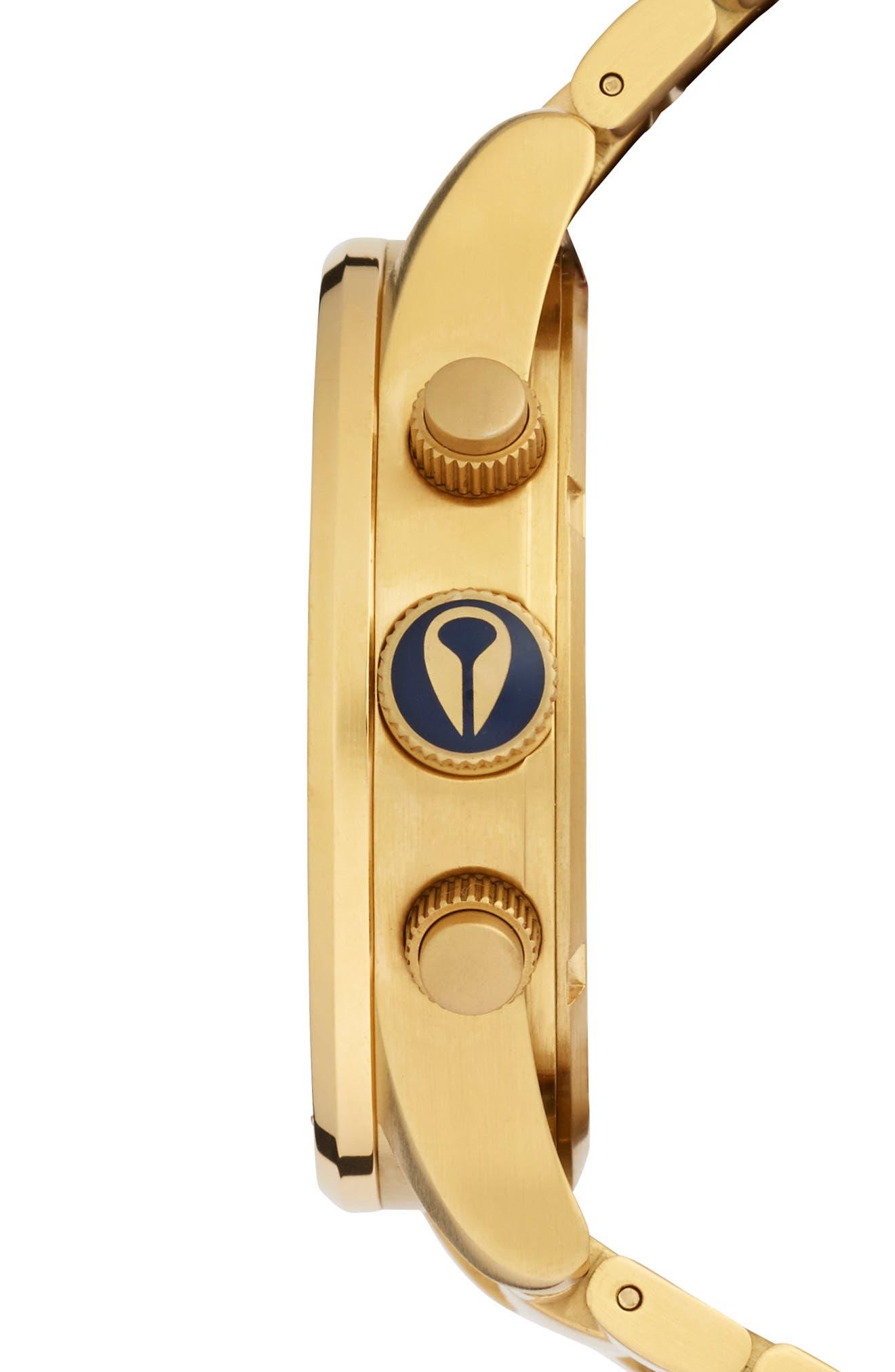 'The Sentry' Chronograph Bracelet Watch, 42mm,                             Alternate thumbnail 41, color,