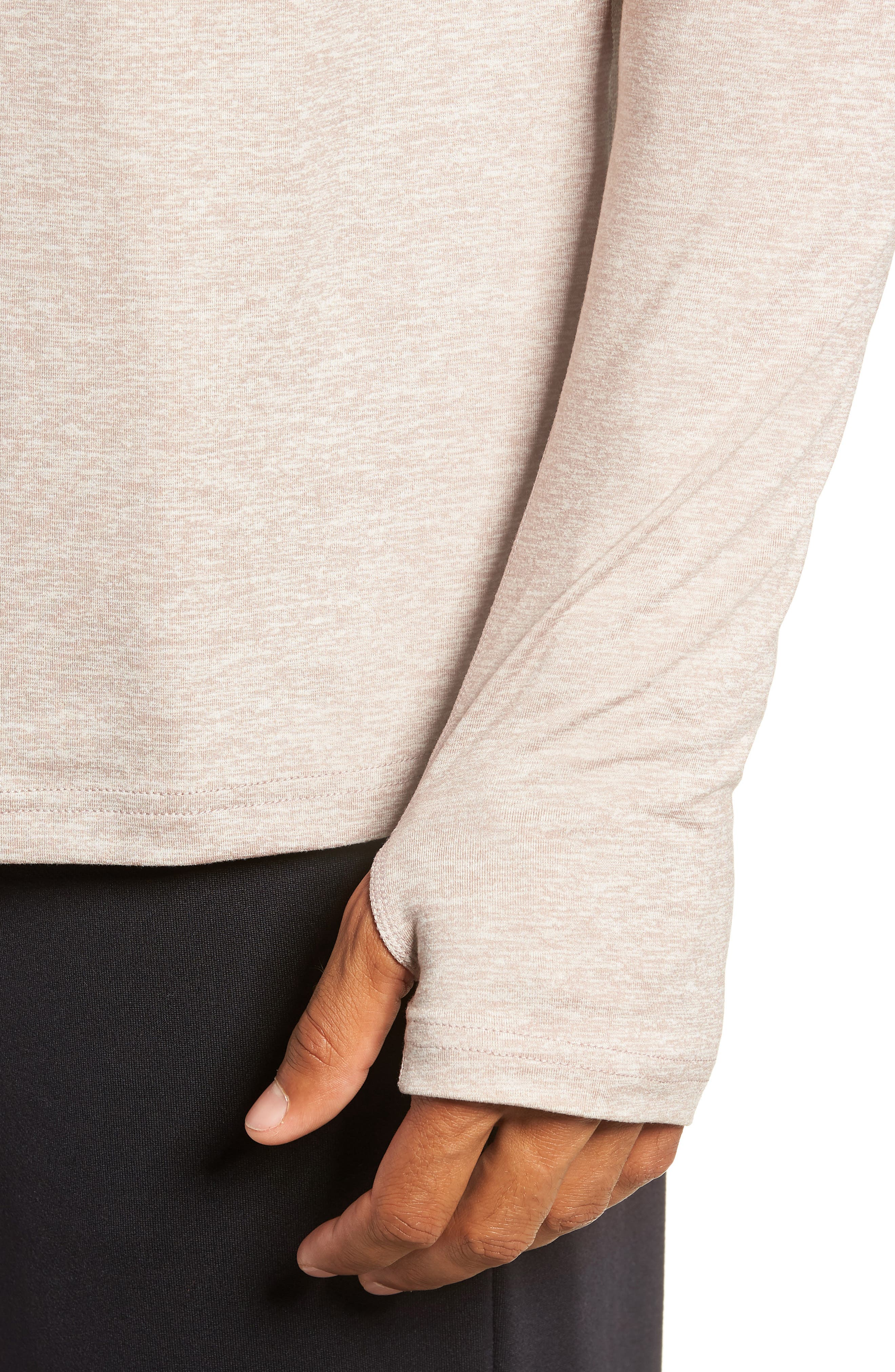 Element HZ 2.0 Performance Pullover,                             Alternate thumbnail 4, color,                             DIFFUSED TAUPE/ SAND/ HEATHER