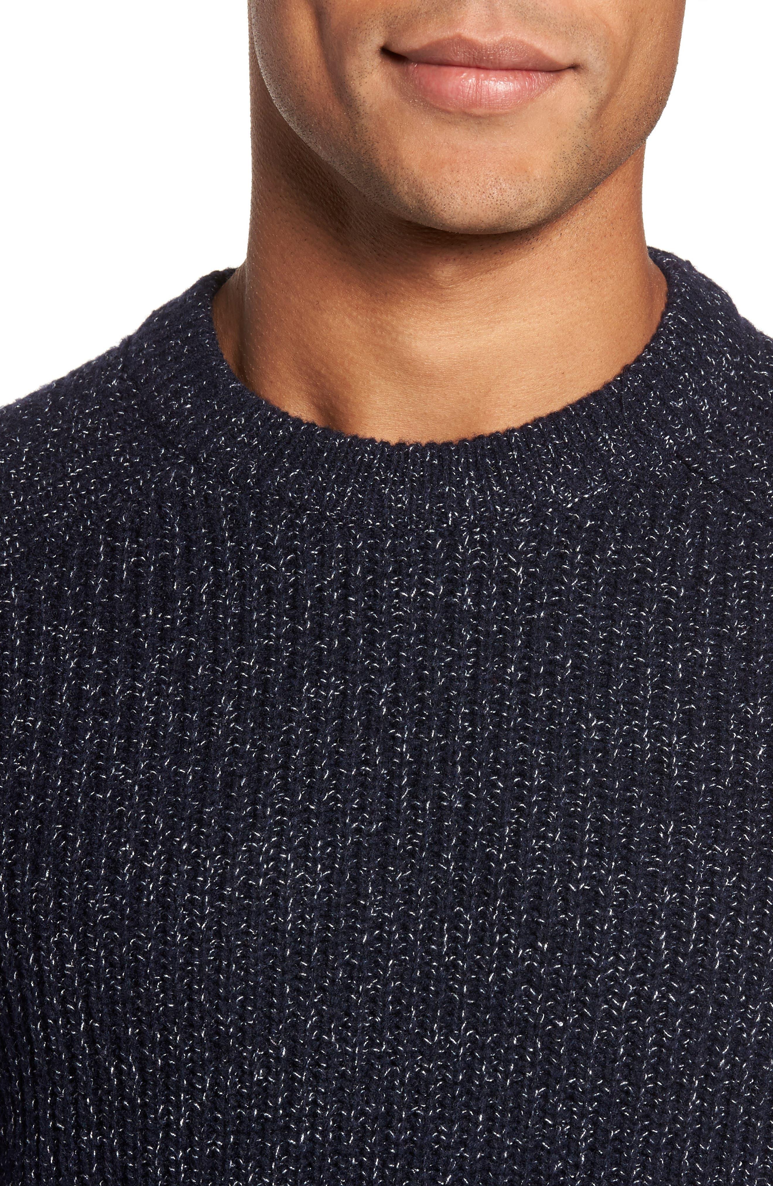 Textured Raglan Sweater,                             Alternate thumbnail 4, color,                             410