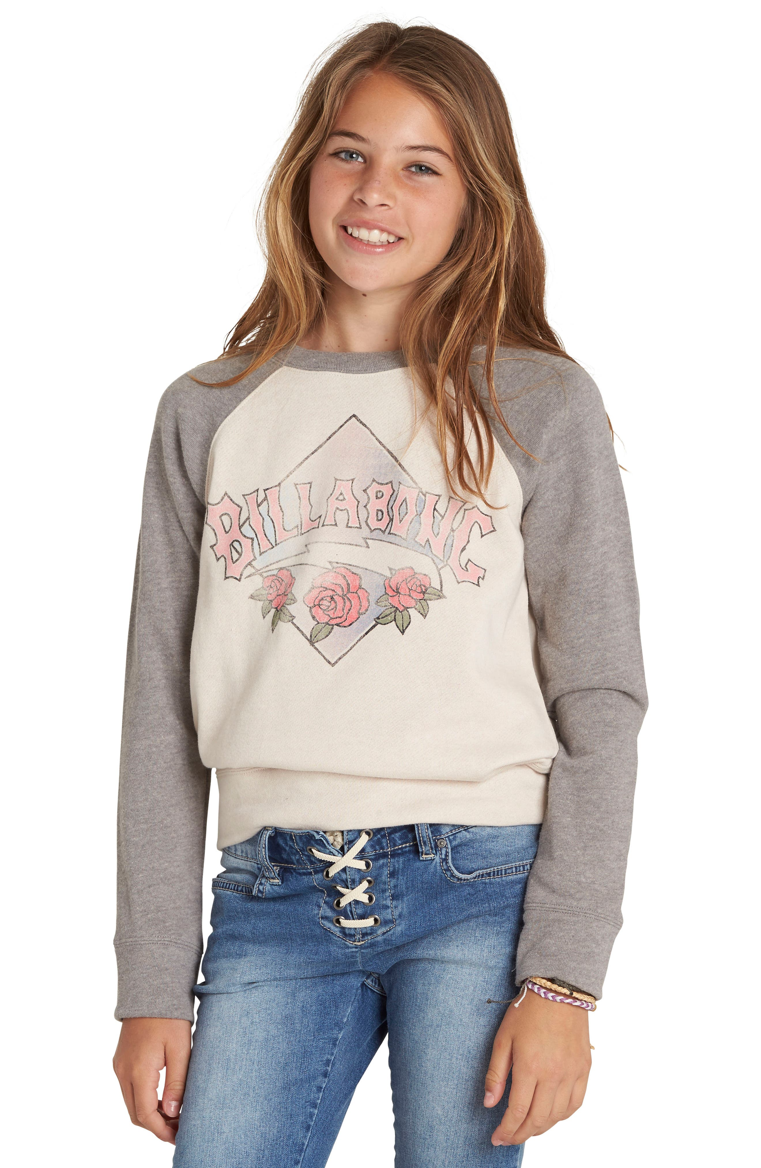 Whole Hearted Graphic Sweatshirt,                             Alternate thumbnail 9, color,