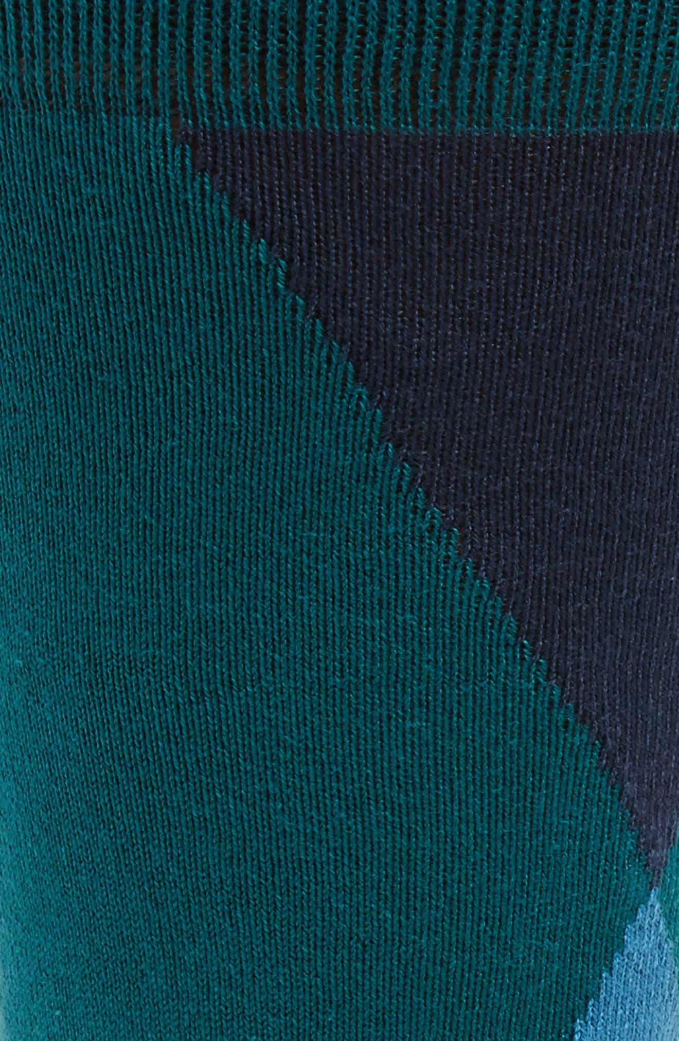 Geo Geometric Socks,                             Alternate thumbnail 4, color,