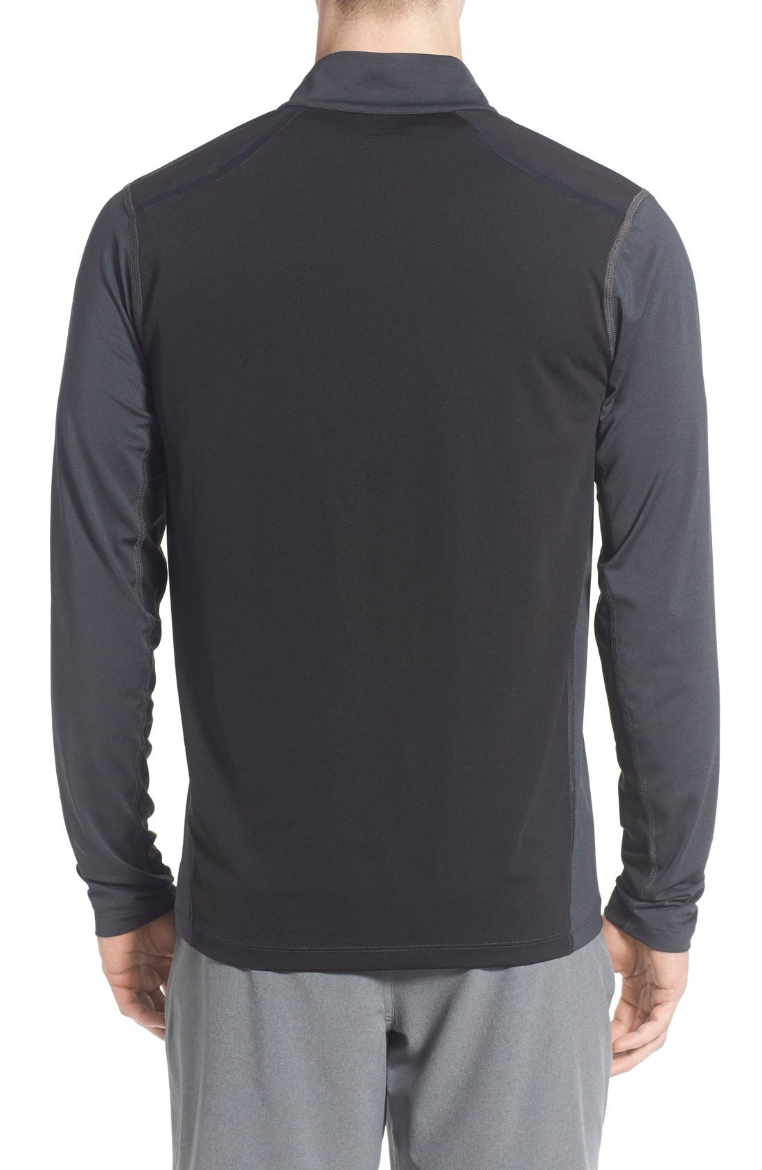 'Kilowatt' Quarter Zip Training Pullover,                             Alternate thumbnail 7, color,