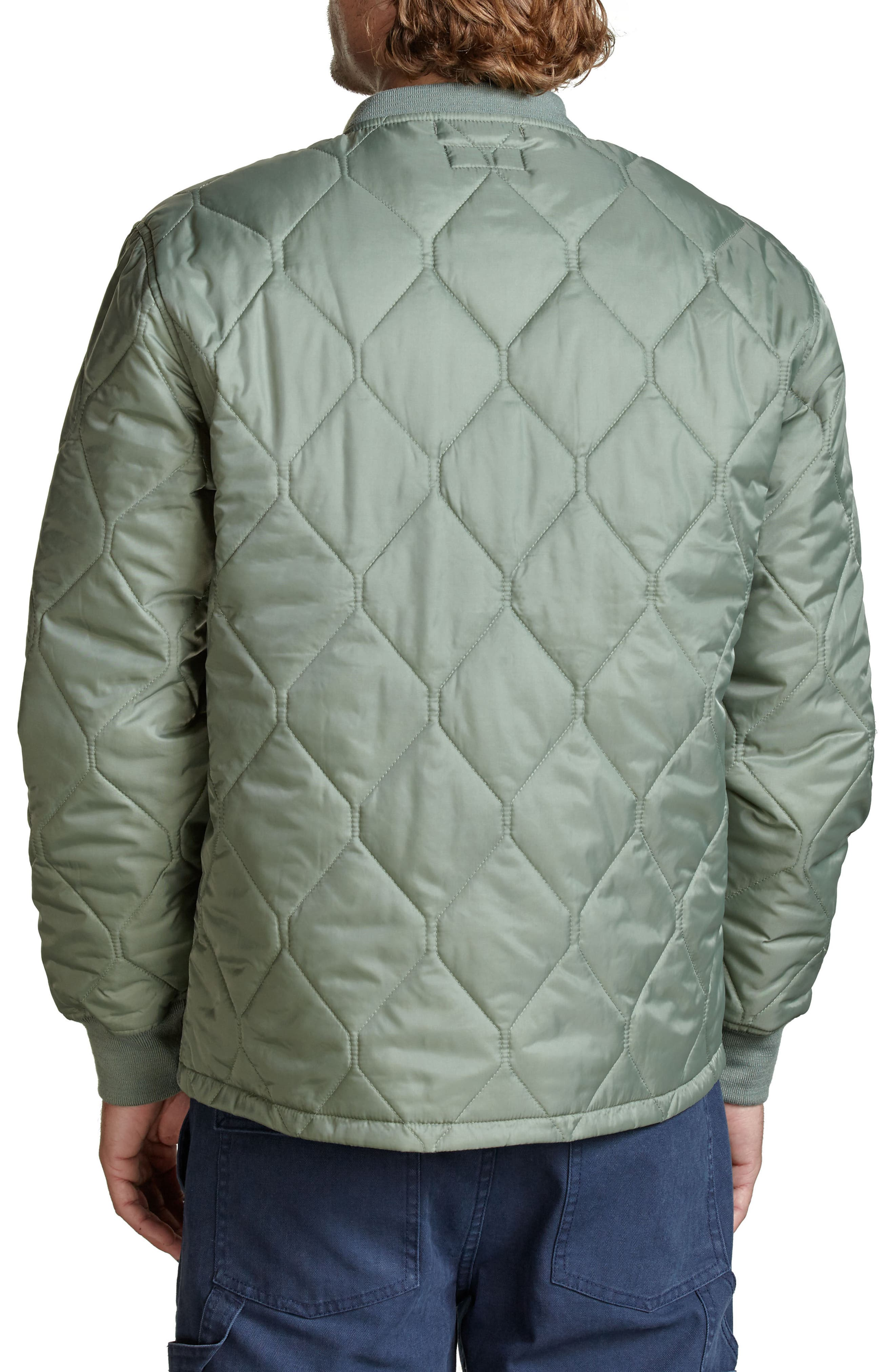 Crawford Quilted Jacket,                             Alternate thumbnail 7, color,