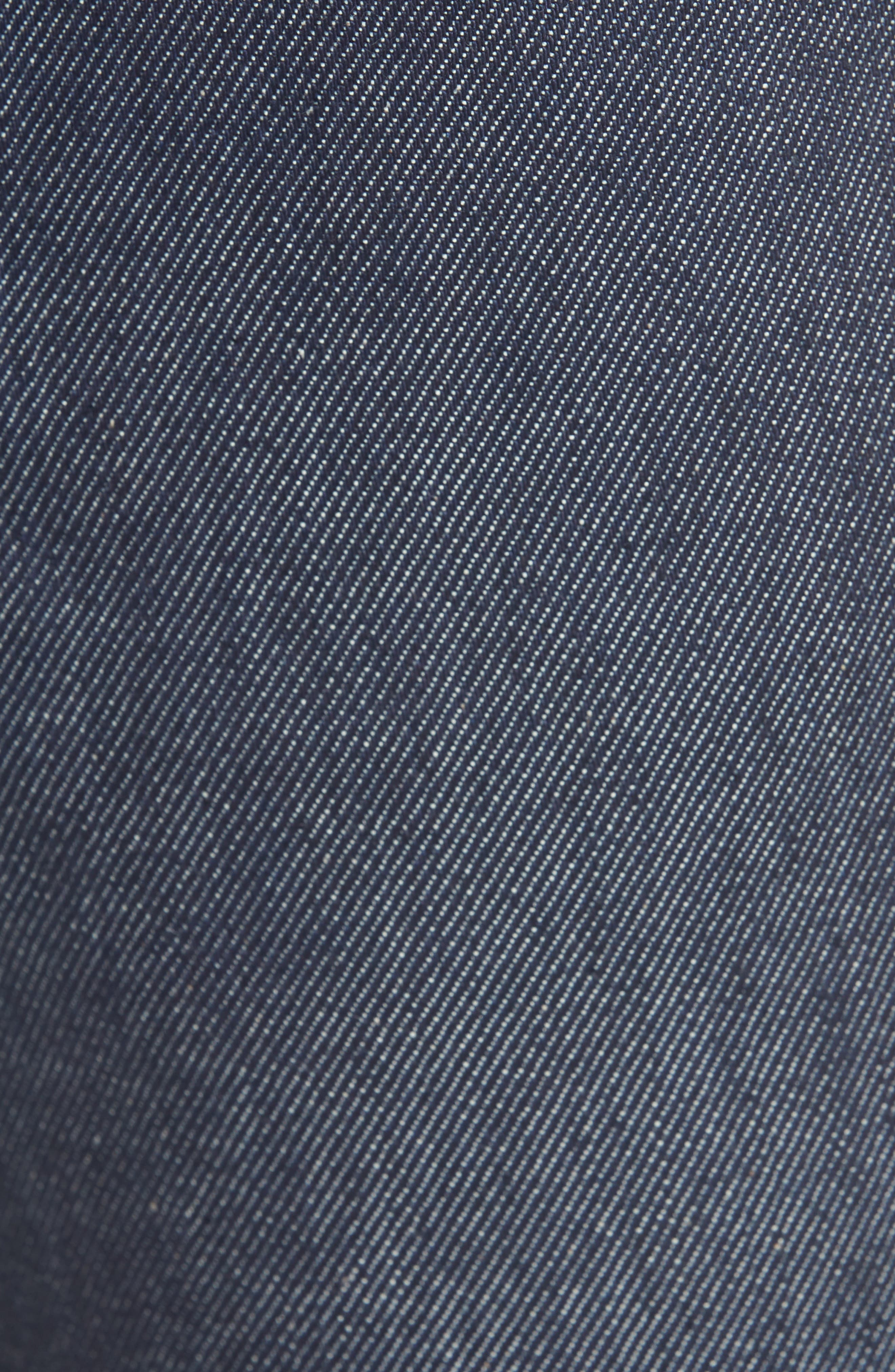 Max Slim Straight Leg Jeans,                             Alternate thumbnail 5, color,                             MAX INDIGO