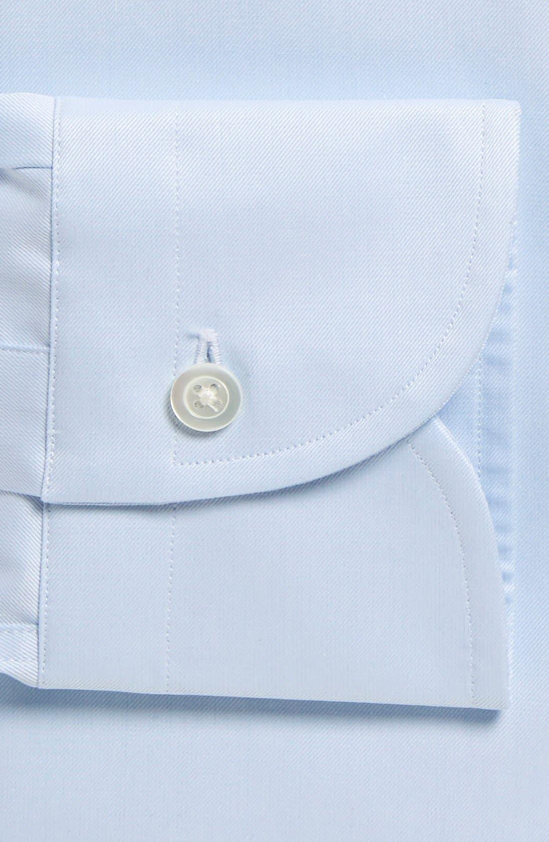Slim Fit Dress Shirt,                             Alternate thumbnail 2, color,                             BLUE