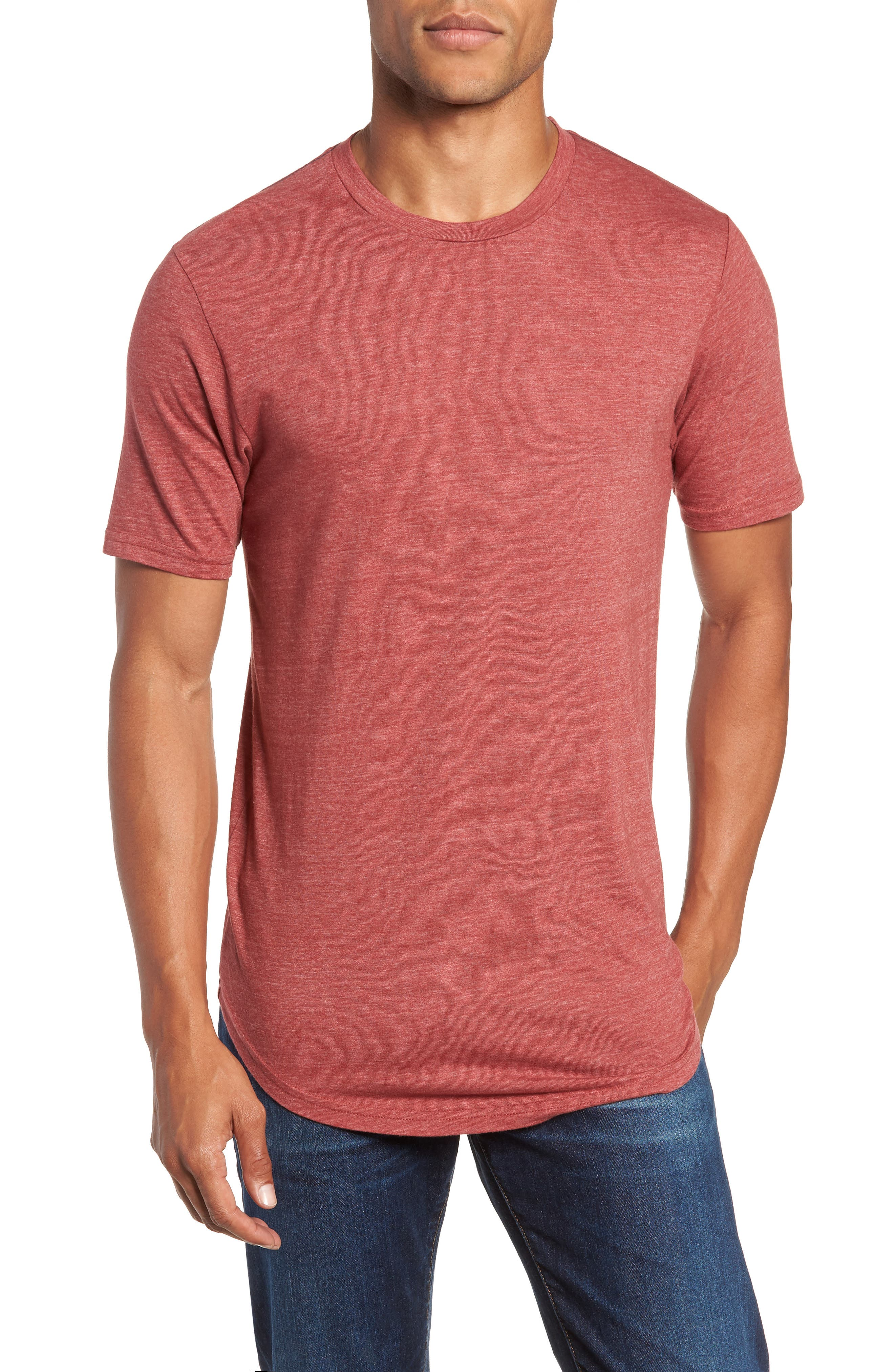 Scallop Triblend Crewneck T-Shirt,                             Main thumbnail 13, color,