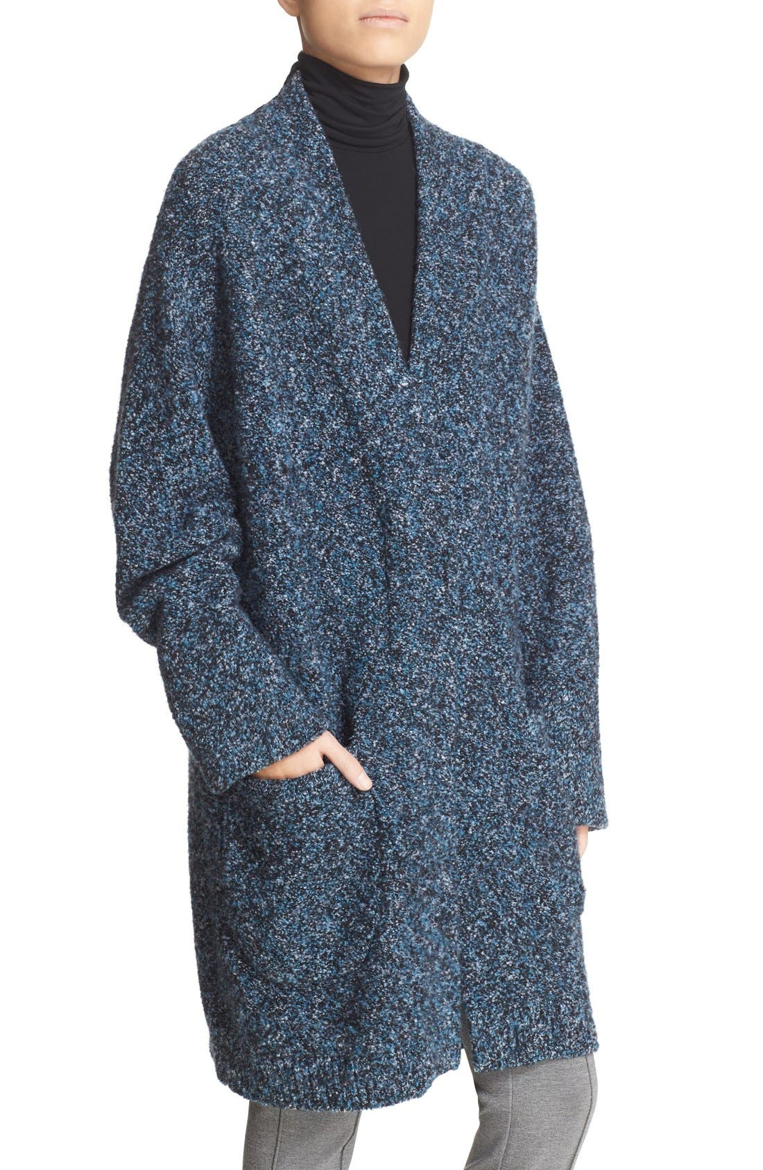 'Diana' Sweater Coat,                             Alternate thumbnail 4, color,                             474