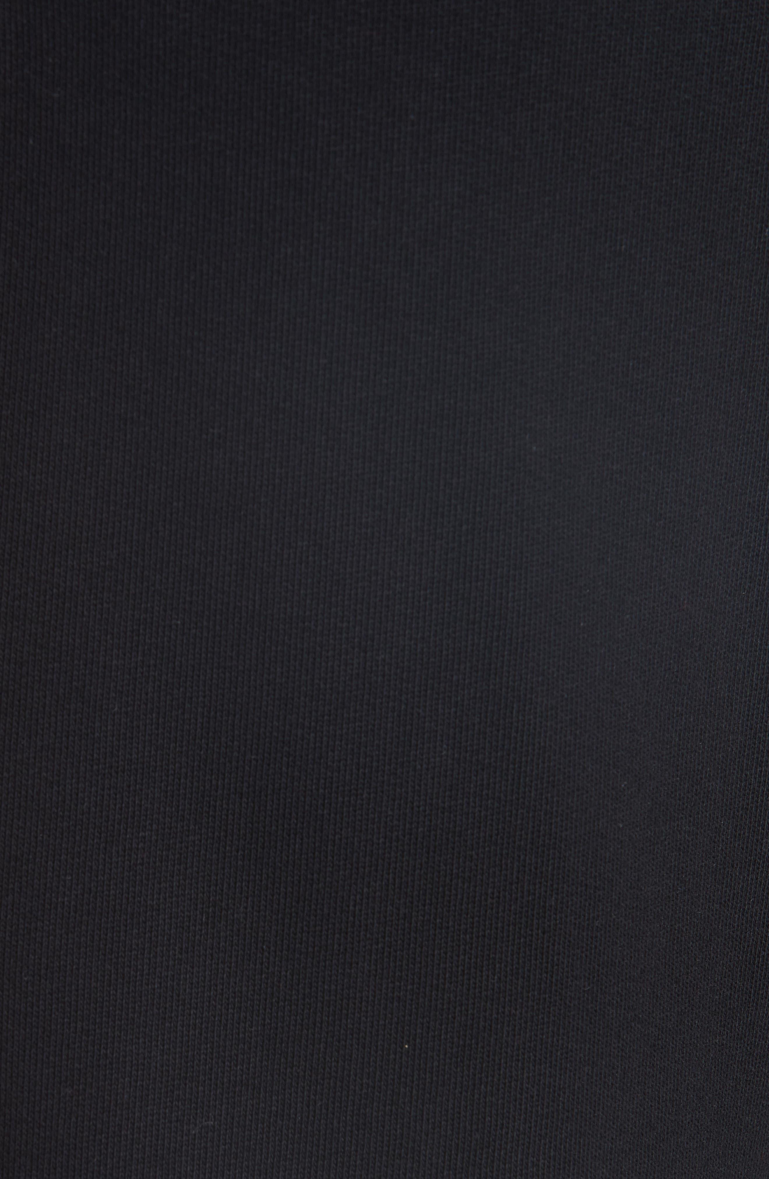 Knit Bermuda Shorts,                             Alternate thumbnail 5, color,                             BLACK