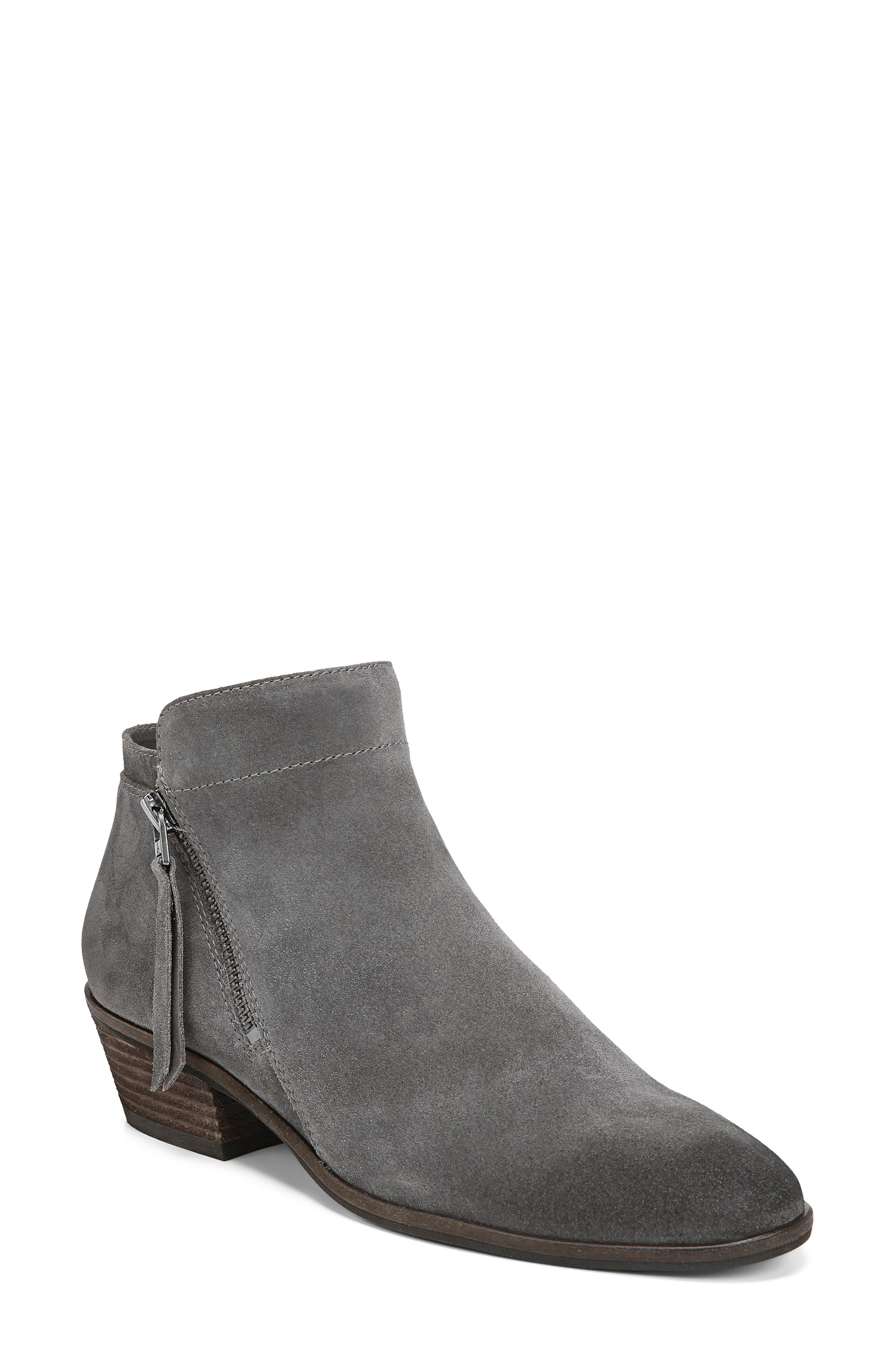 Packer Bootie,                         Main,                         color, STEEL GREY SUEDE LEATHER