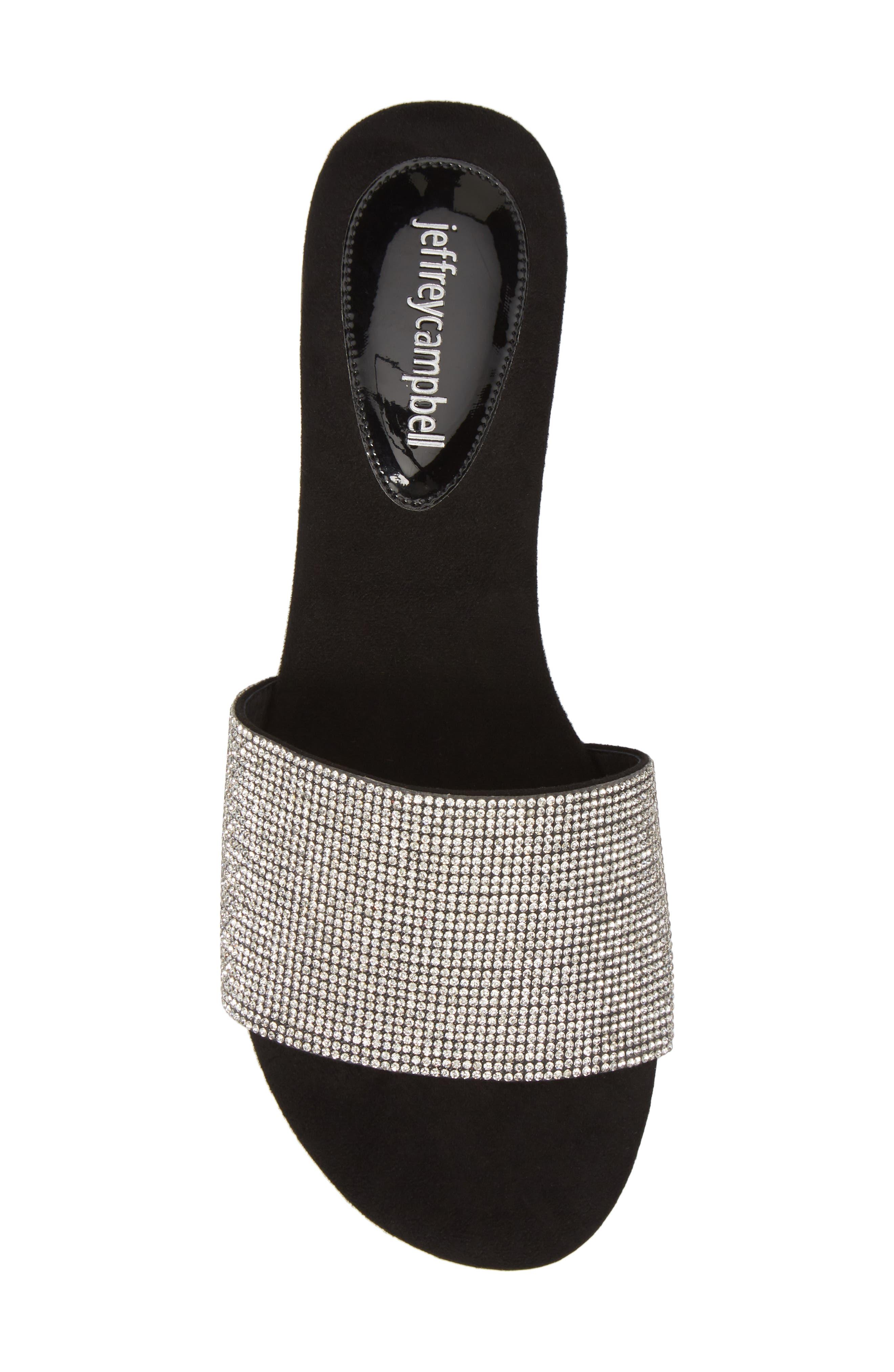 Sparque Embellished Slide Sandal,                             Alternate thumbnail 9, color,