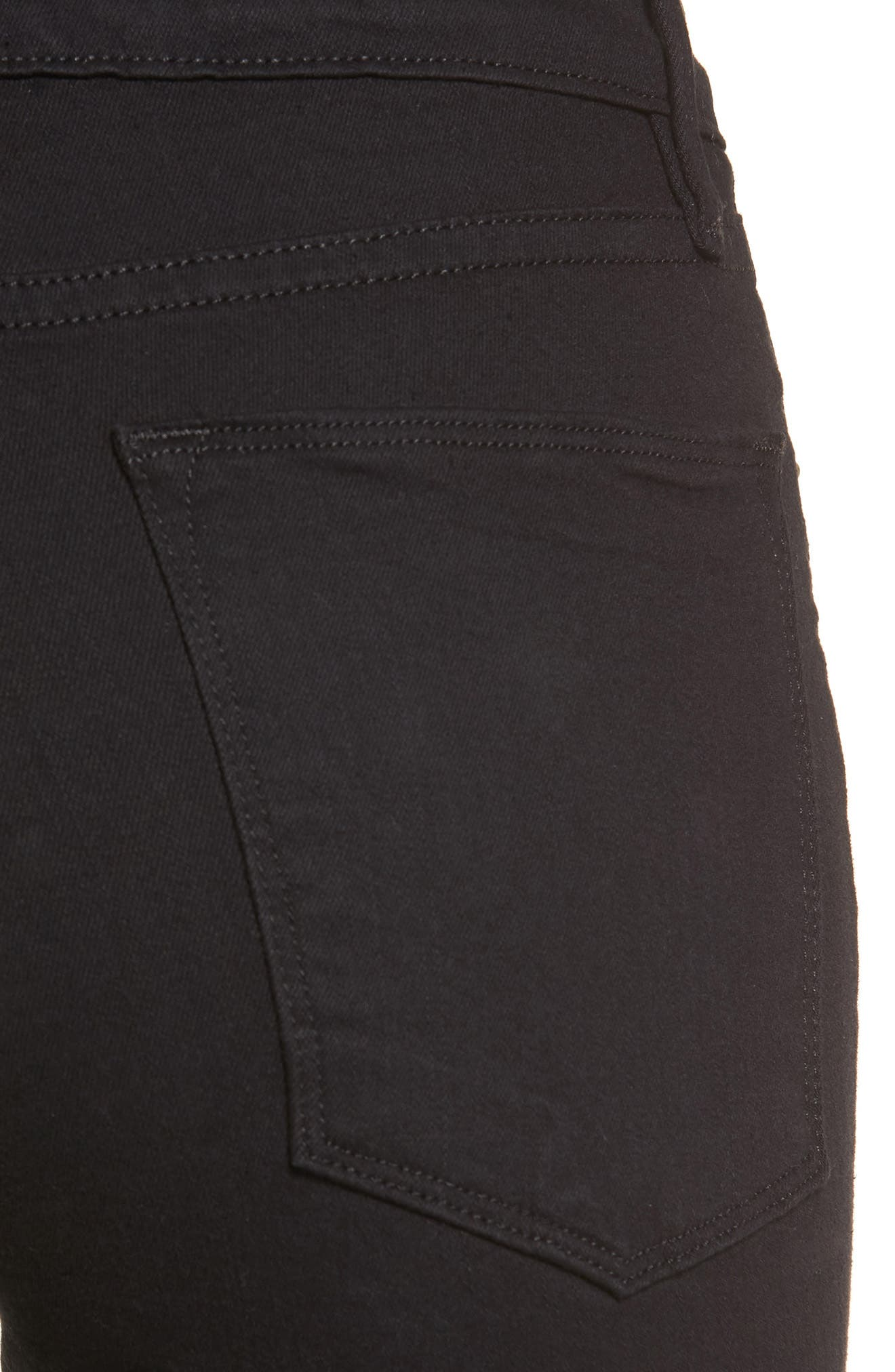Le Color High Waist Skinny Jeans,                             Alternate thumbnail 4, color,                             003