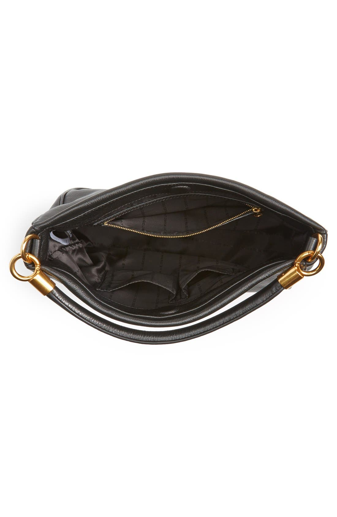 MARC BY MARC JACOBS 'Too Hot to Handle' Hobo,                             Alternate thumbnail 5, color,                             001