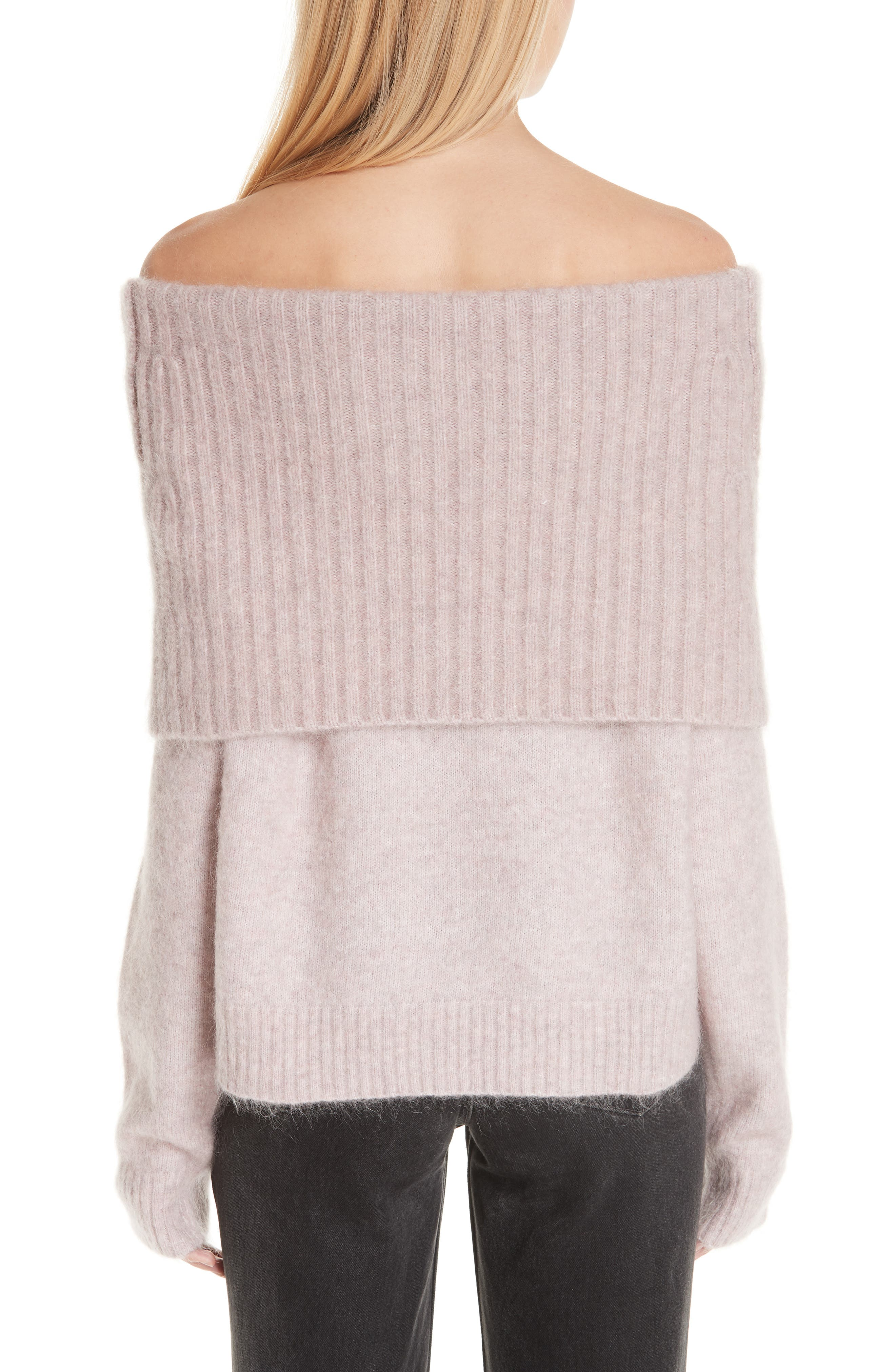 Off the Shoulder Sweater,                             Alternate thumbnail 2, color,                             650
