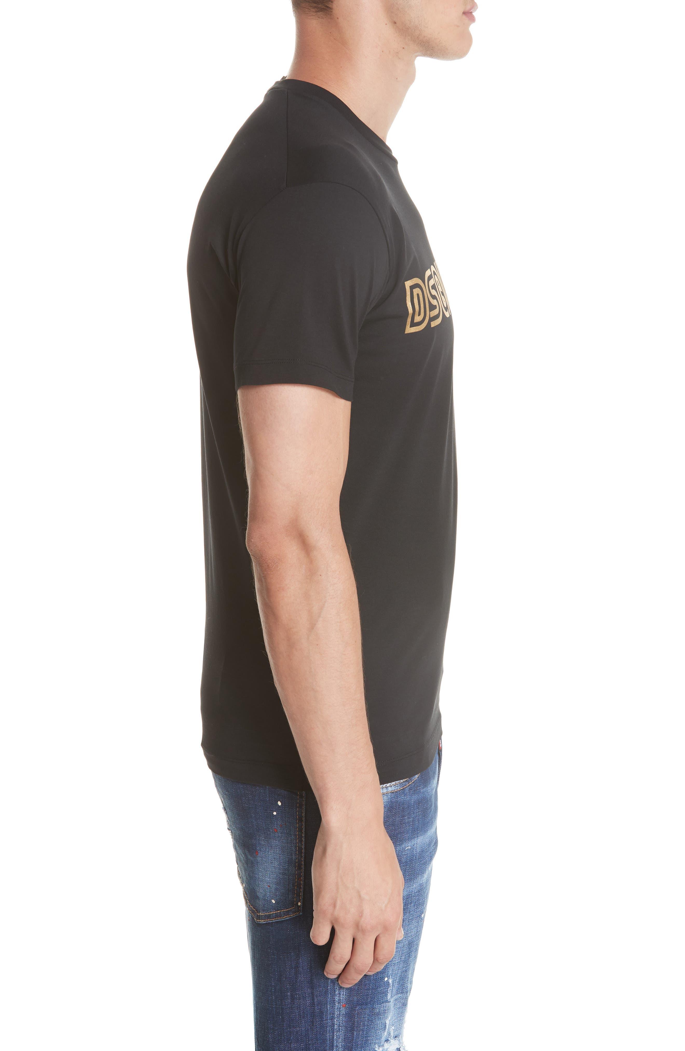 Studio 54 Graphic T-Shirt,                             Alternate thumbnail 3, color,                             001