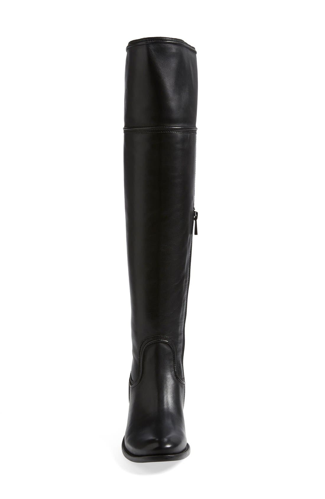 'Baldwin' Over the Knee Boot,                             Alternate thumbnail 5, color,                             001
