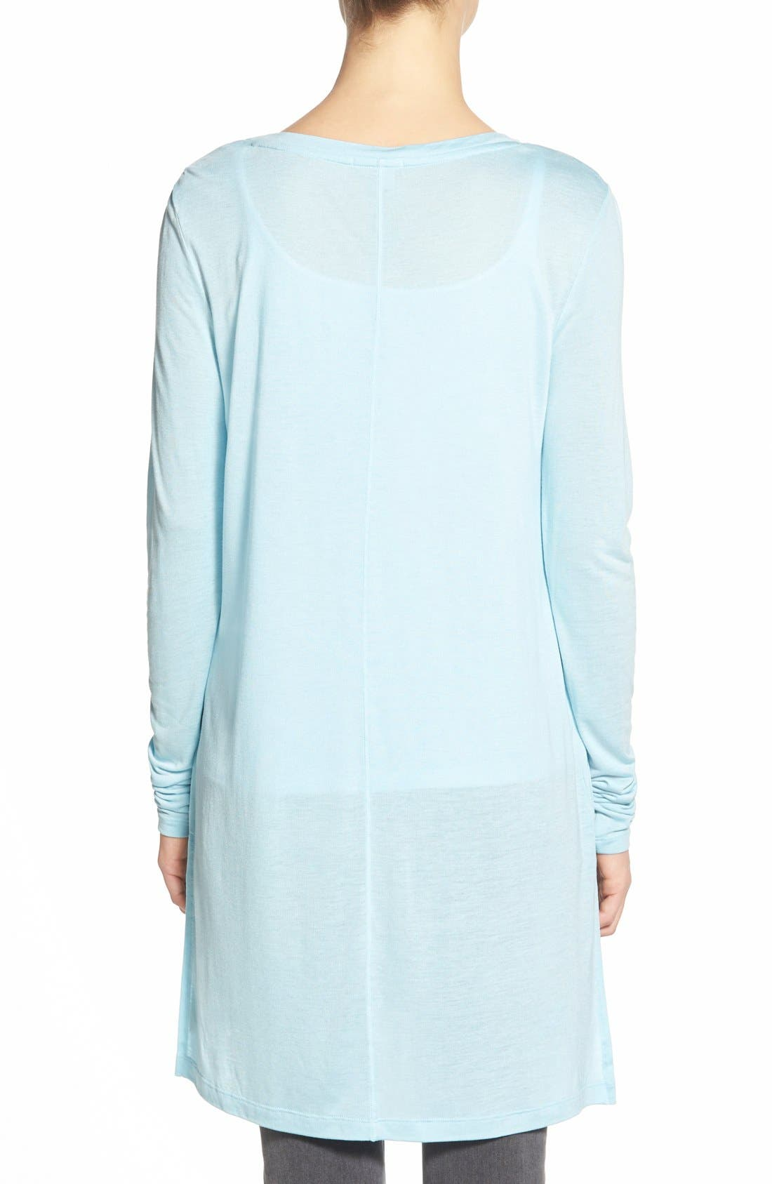 Long Sleeve Lightweight Tunic,                             Alternate thumbnail 40, color,