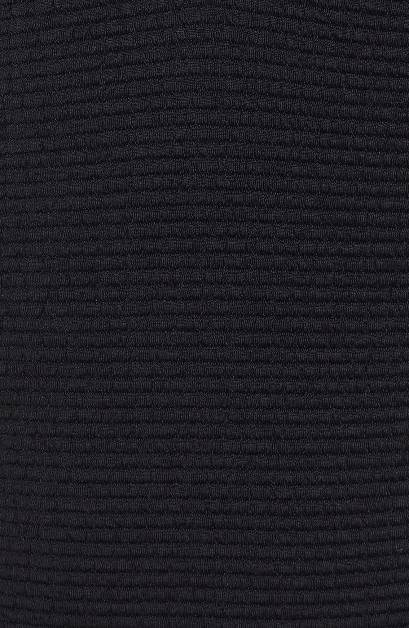 Malibu One-Piece Swimsuit,                             Alternate thumbnail 5, color,                             BLACK