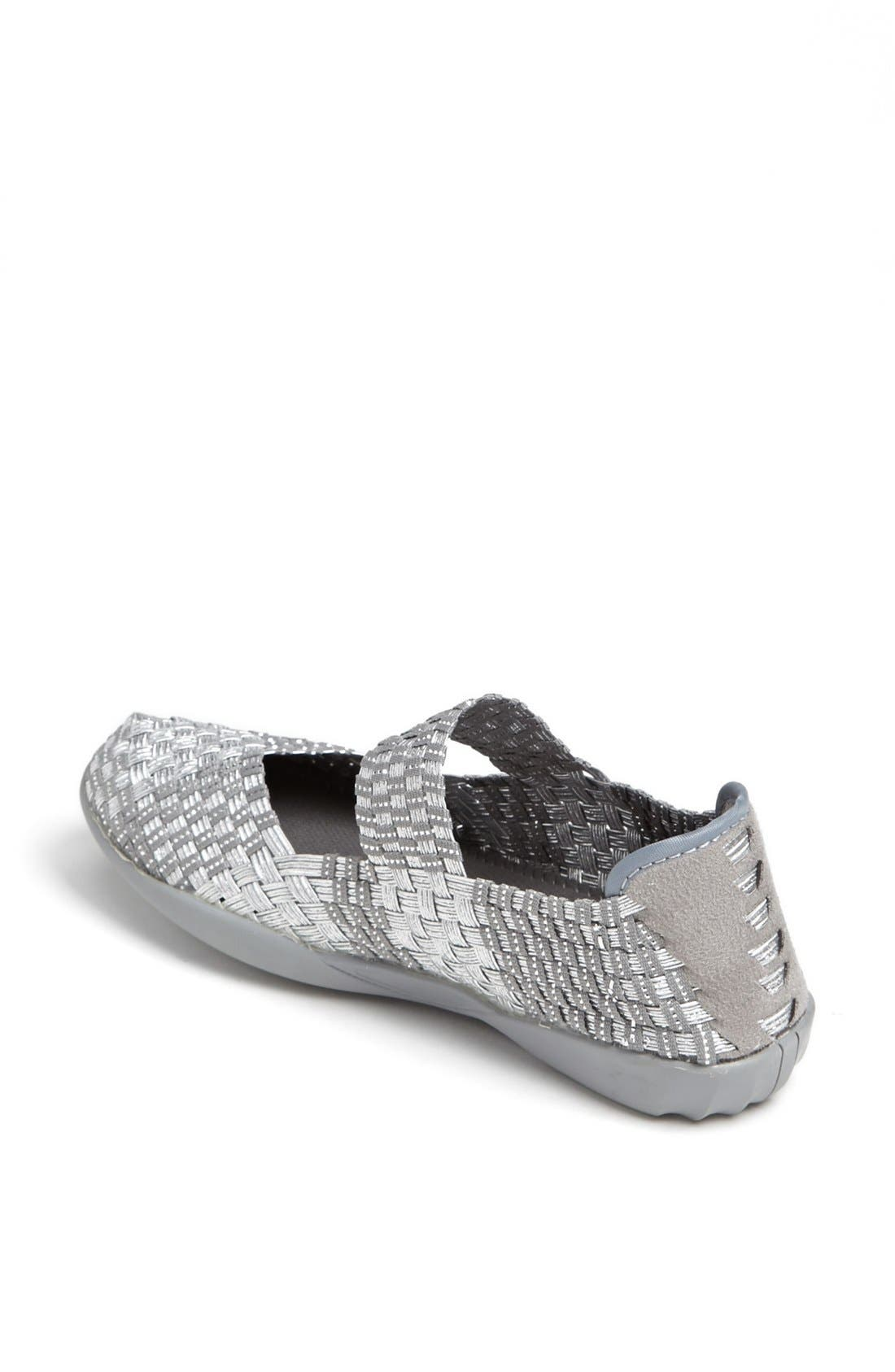 'Cuddly' Sneaker,                             Alternate thumbnail 4, color,                             SILVER