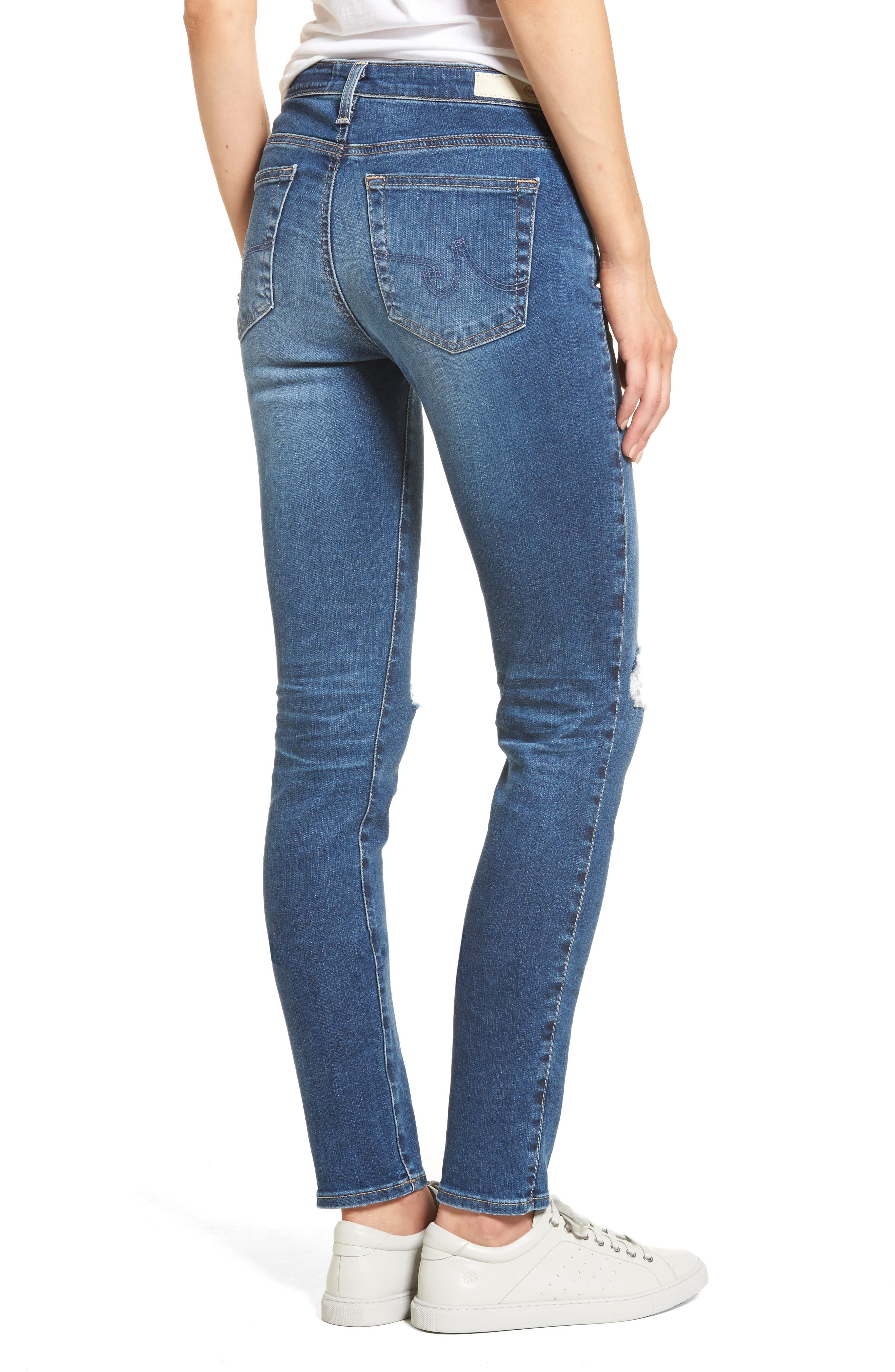 'Prima' Skinny Jeans,                             Alternate thumbnail 9, color,