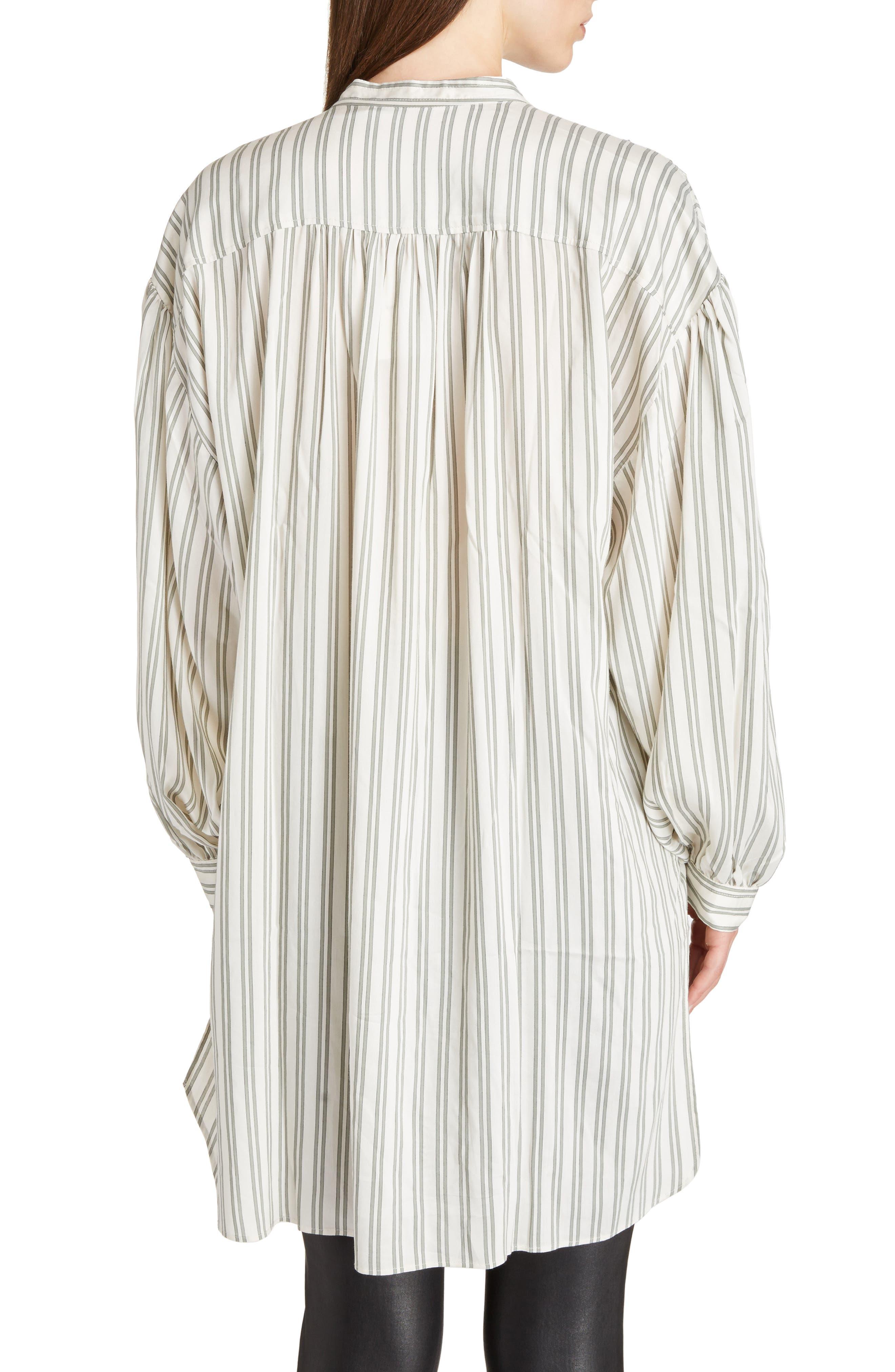 Idoa Stripe Tunic,                             Alternate thumbnail 2, color,                             100